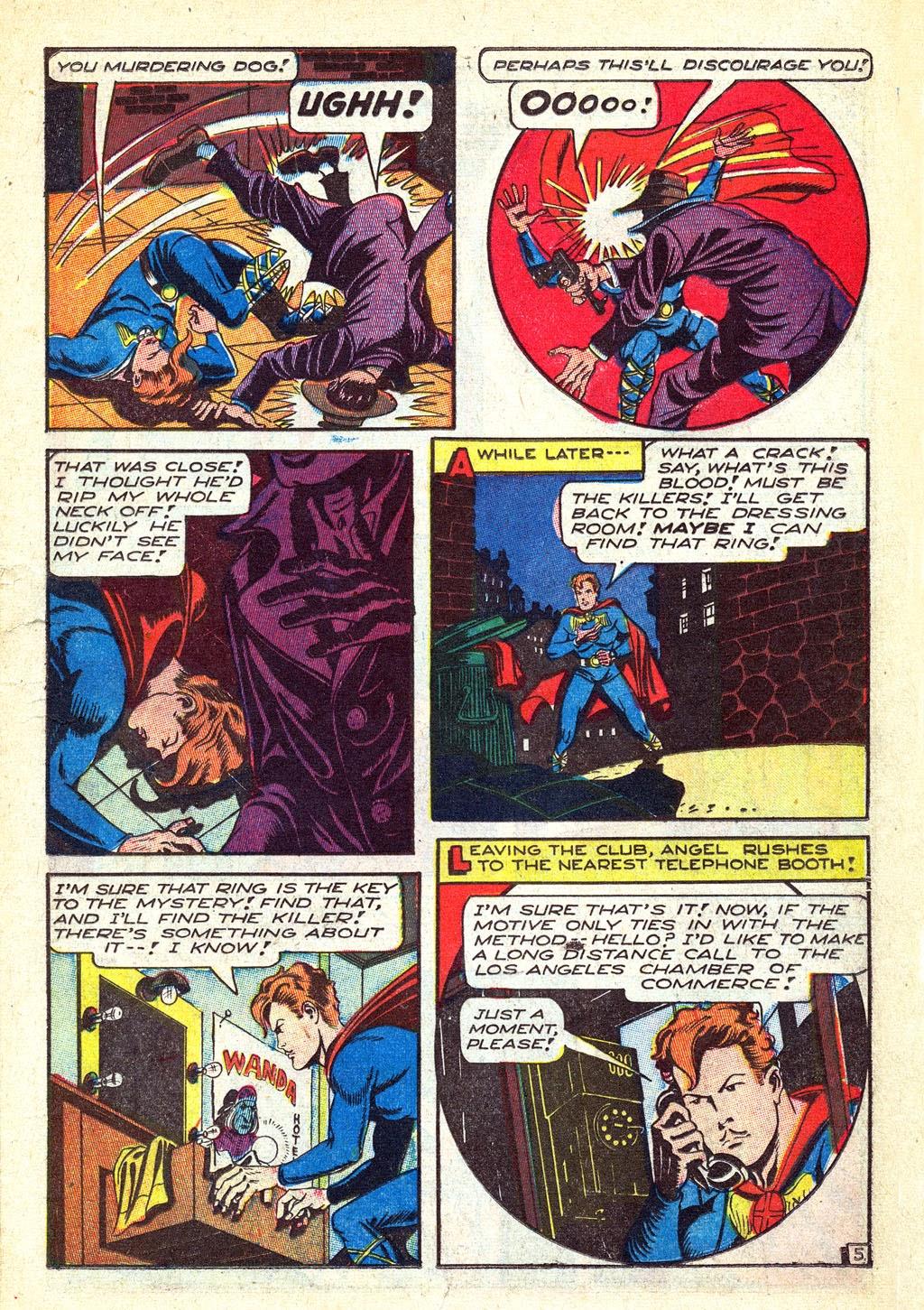 Read online Mystic Comics (1944) comic -  Issue #3 - 15