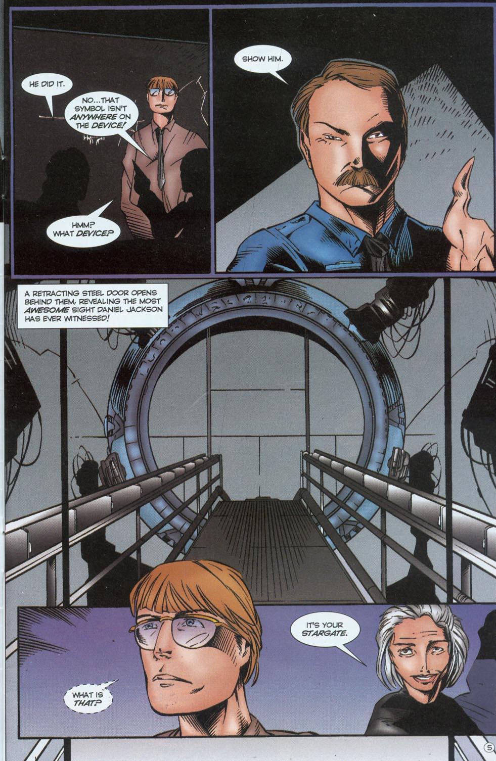 Read online Stargate comic -  Issue #1 - 7