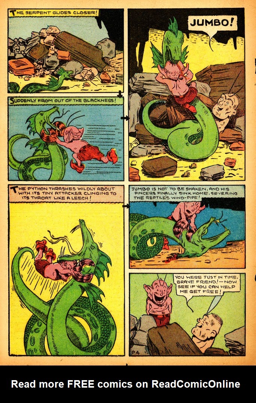 Read online Amazing Man Comics comic -  Issue #12 - 46