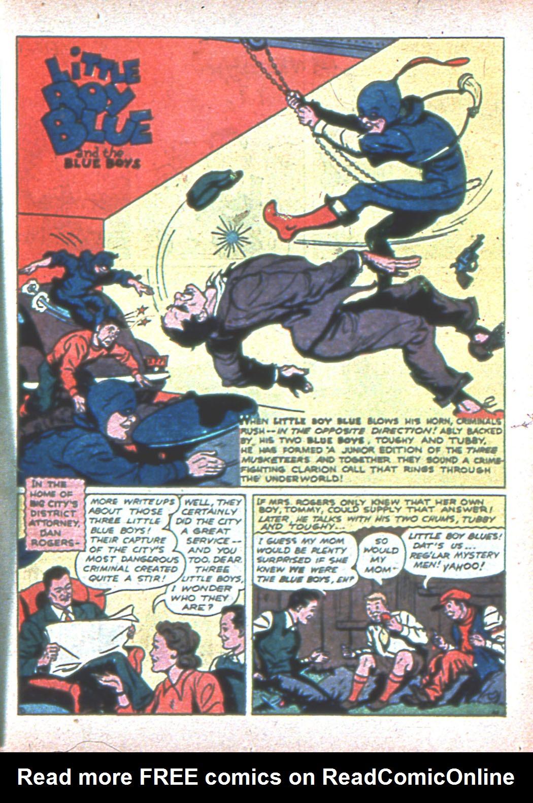 Read online Sensation (Mystery) Comics comic -  Issue #2 - 49