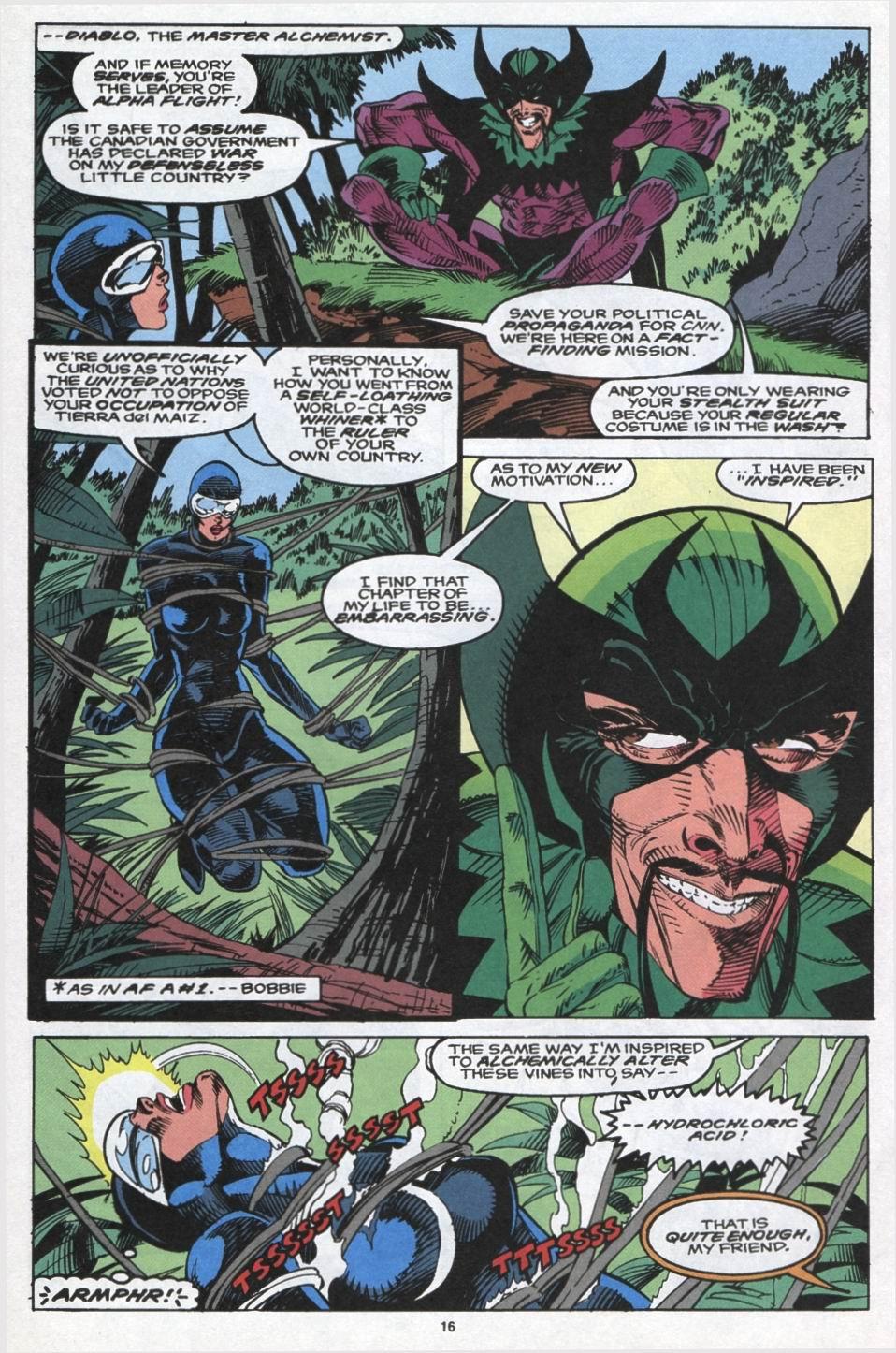Read online Alpha Flight (1983) comic -  Issue #102 - 13