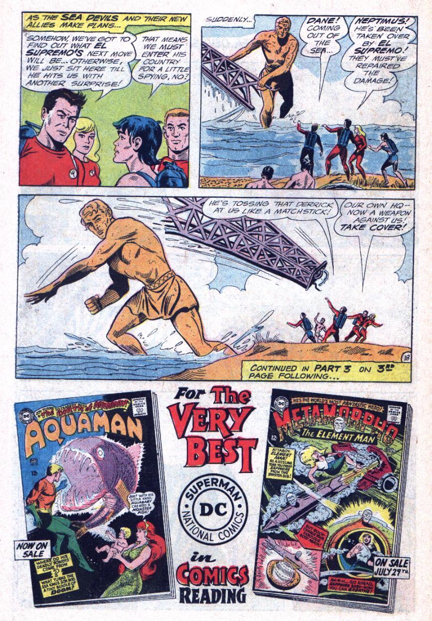 Read online Sea Devils comic -  Issue #25 - 23