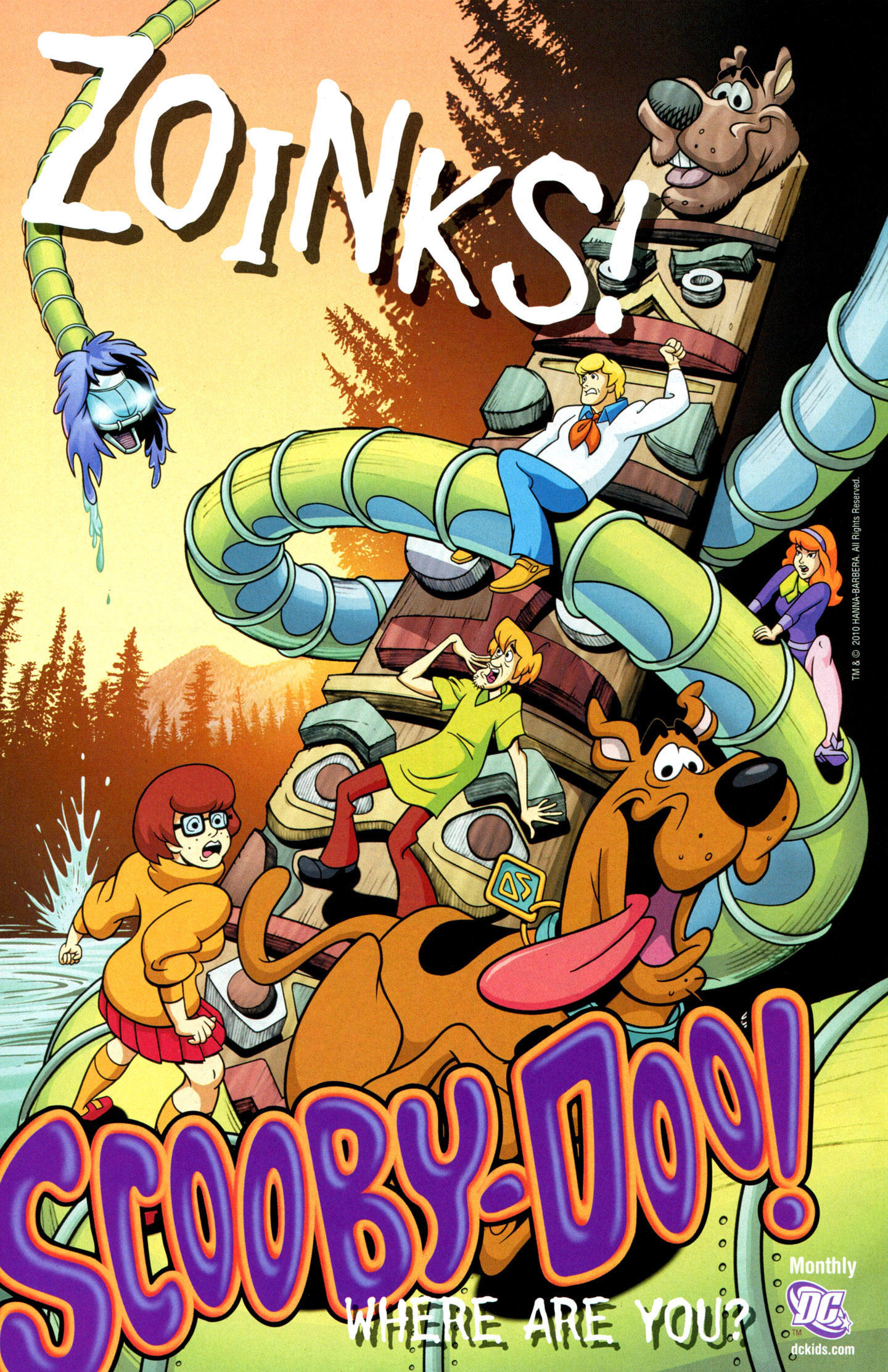 Read online Scooby-Doo: Where Are You? comic -  Issue #20 - 20