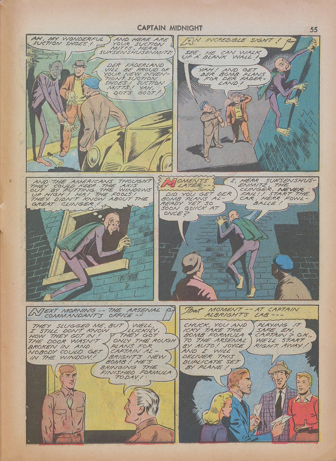 Captain Midnight (1942) issue 7 - Page 55