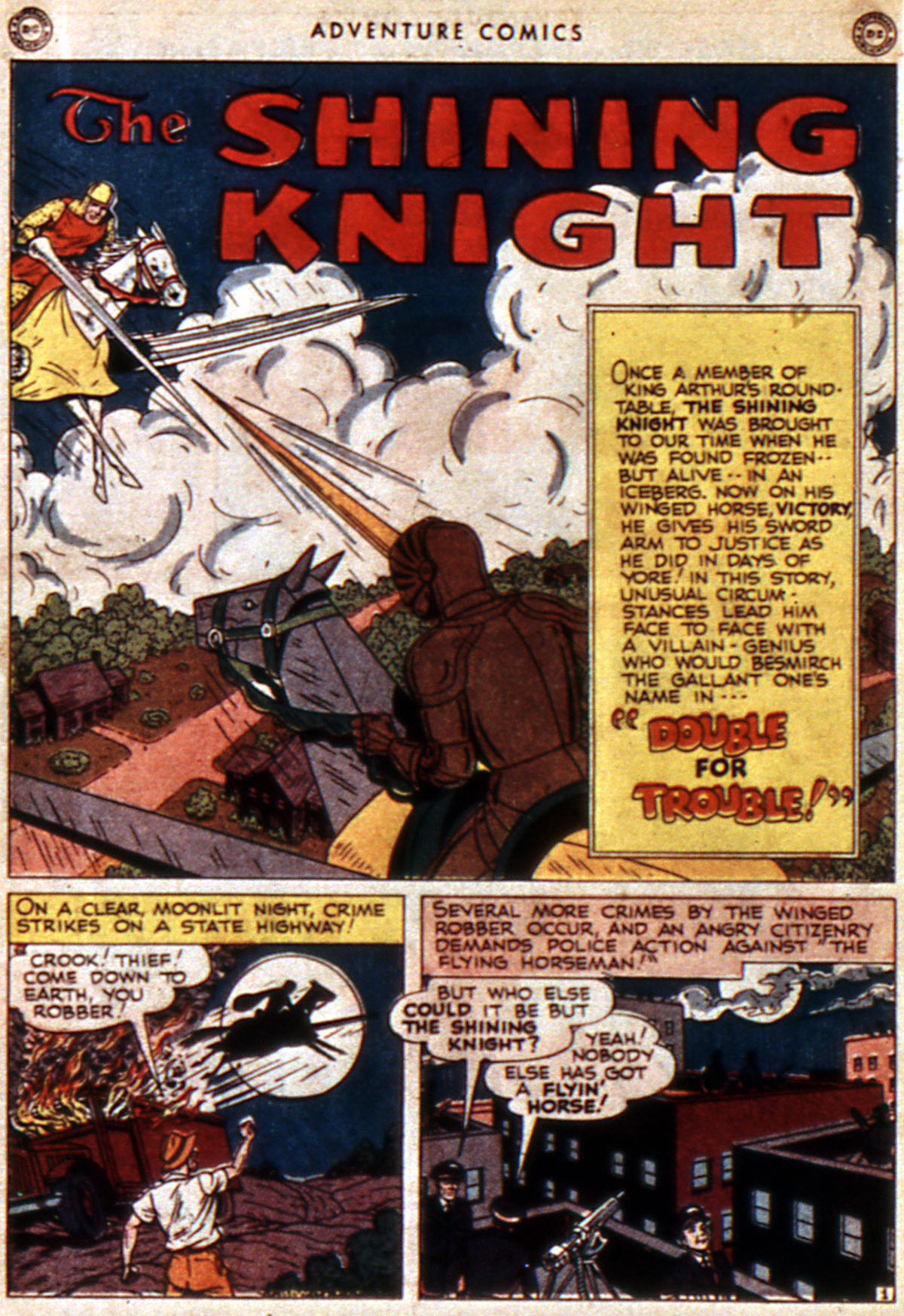 Read online Adventure Comics (1938) comic -  Issue #112 - 20