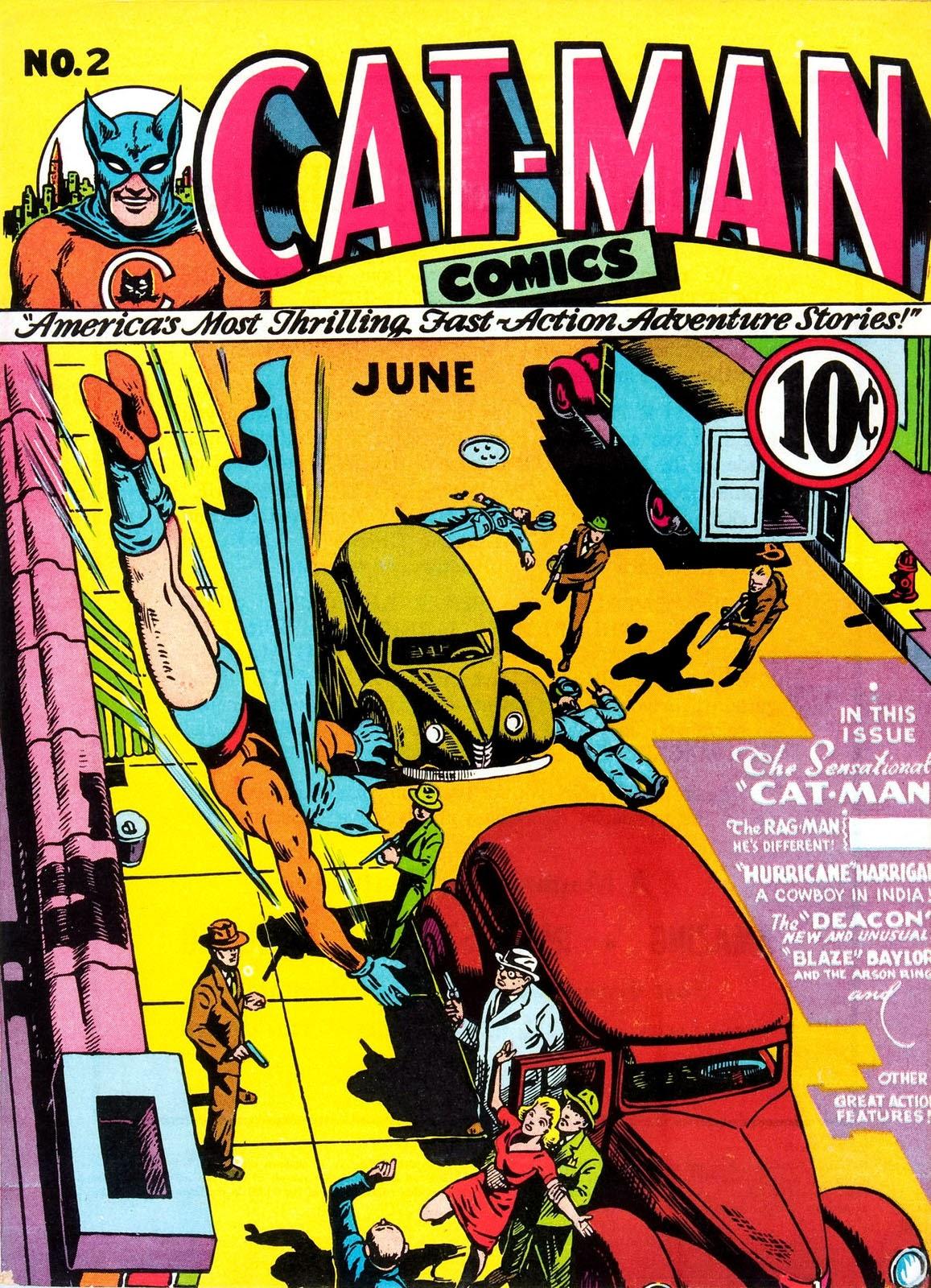 Cat-Man Comics 2 Page 1