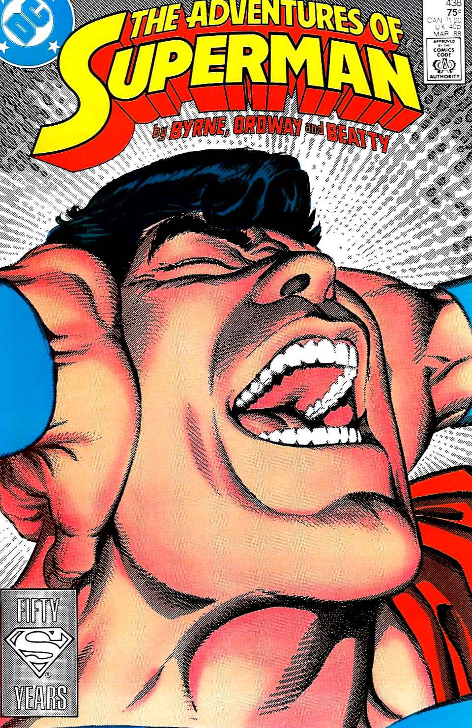 Read online Adventures of Superman (1987) comic -  Issue #438 - 1