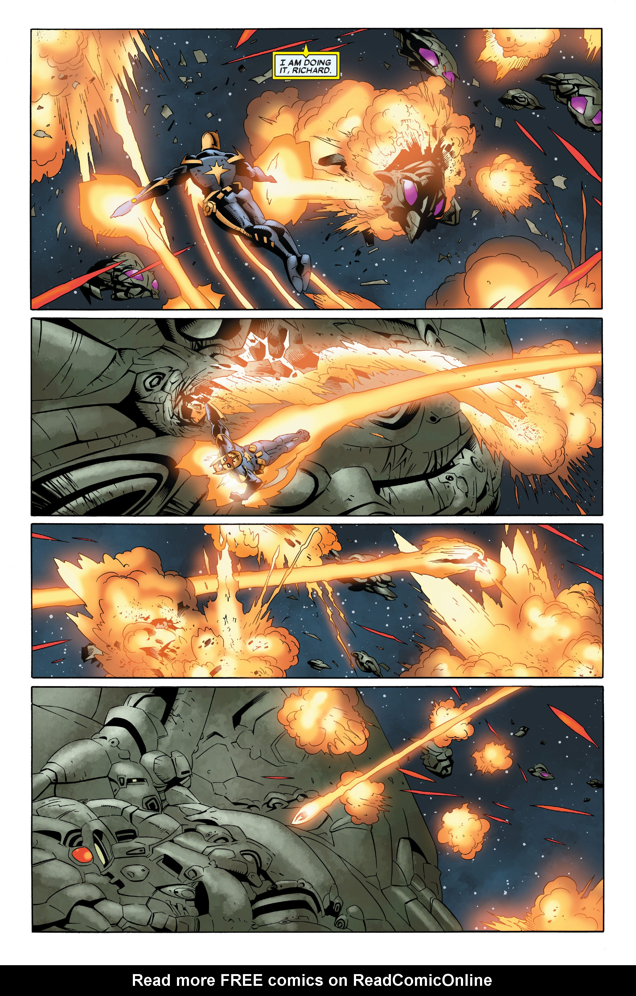 Read online Annihilation: Nova comic -  Issue #4 - 7