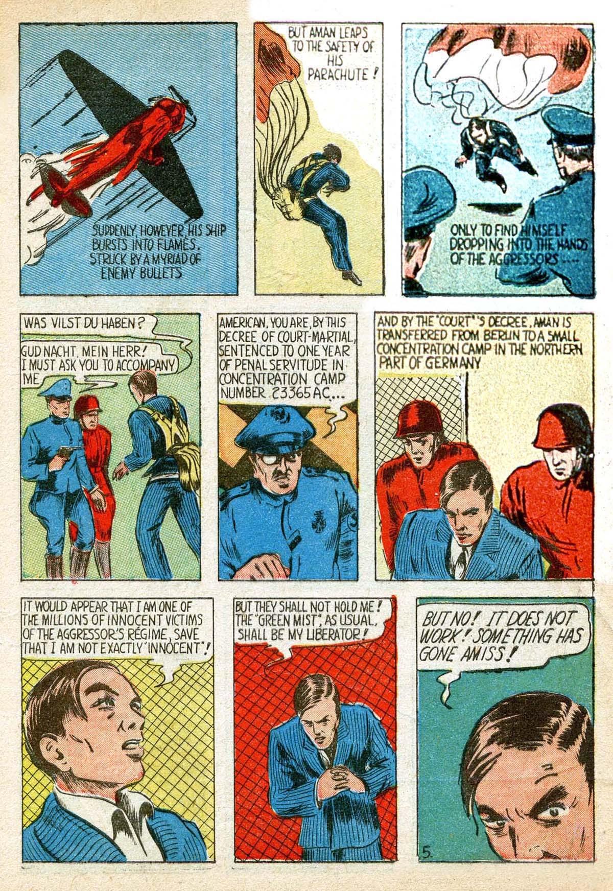 Read online Amazing Man Comics comic -  Issue #8 - 7