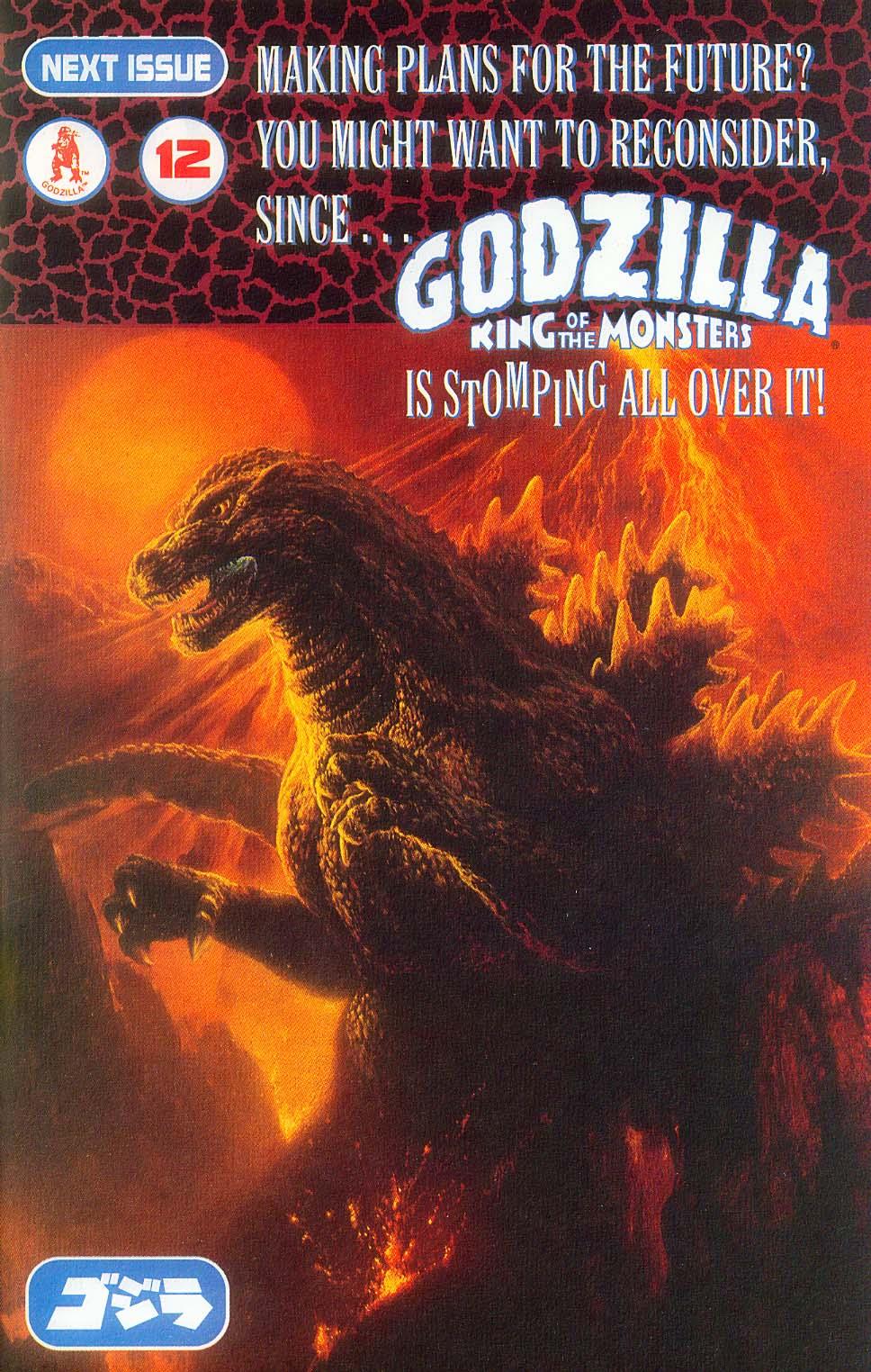 Godzilla (1995) Issue #11 #12 - English 27