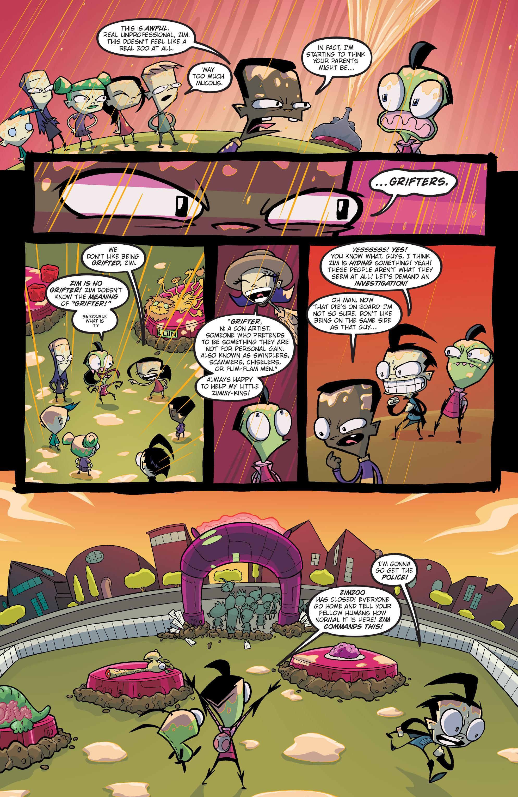 Read online Invader Zim comic -  Issue #19 - 11