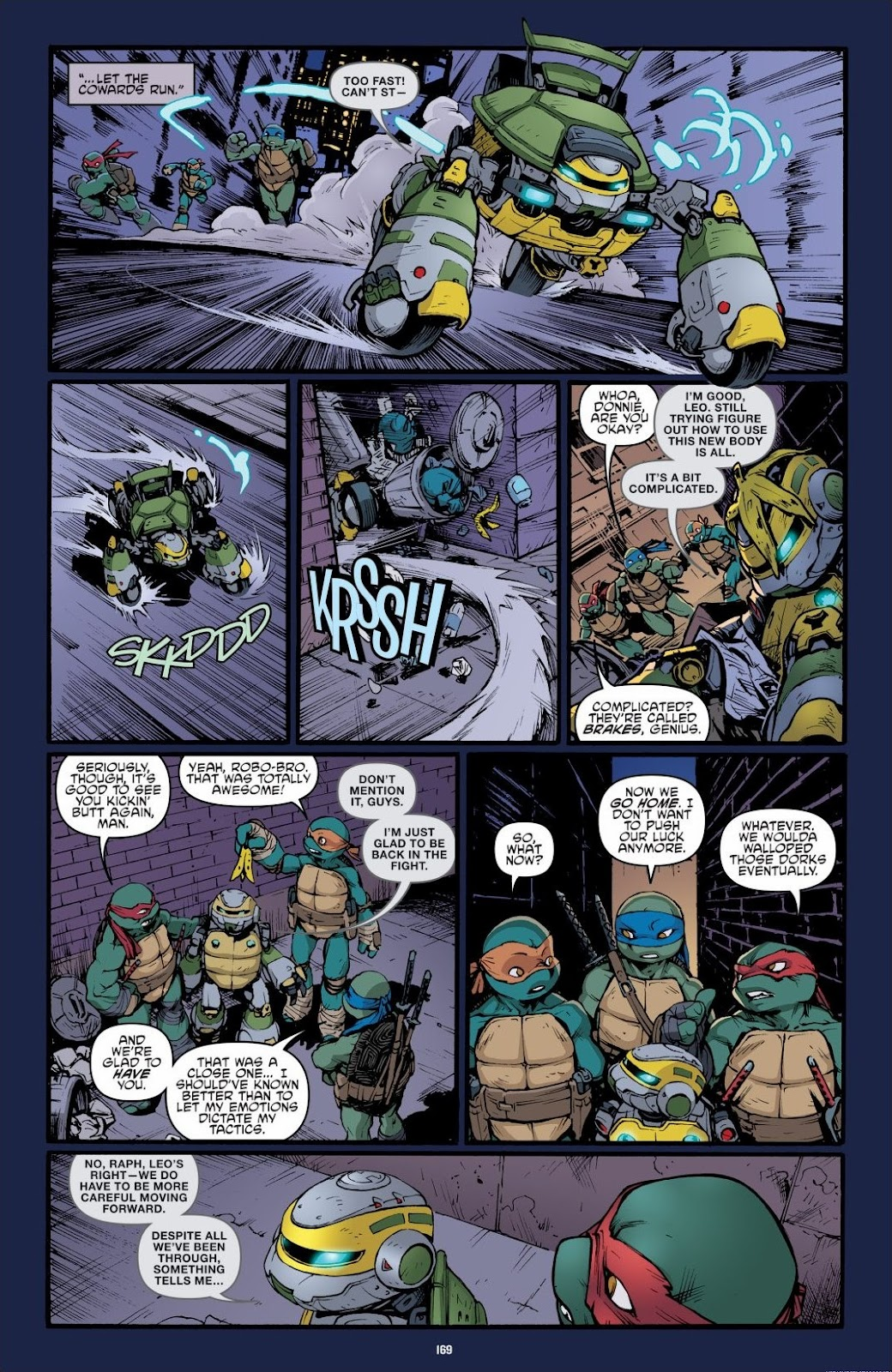 Read online Teenage Mutant Ninja Turtles: The IDW Collection comic -  Issue # TPB 6 (Part 2) - 67