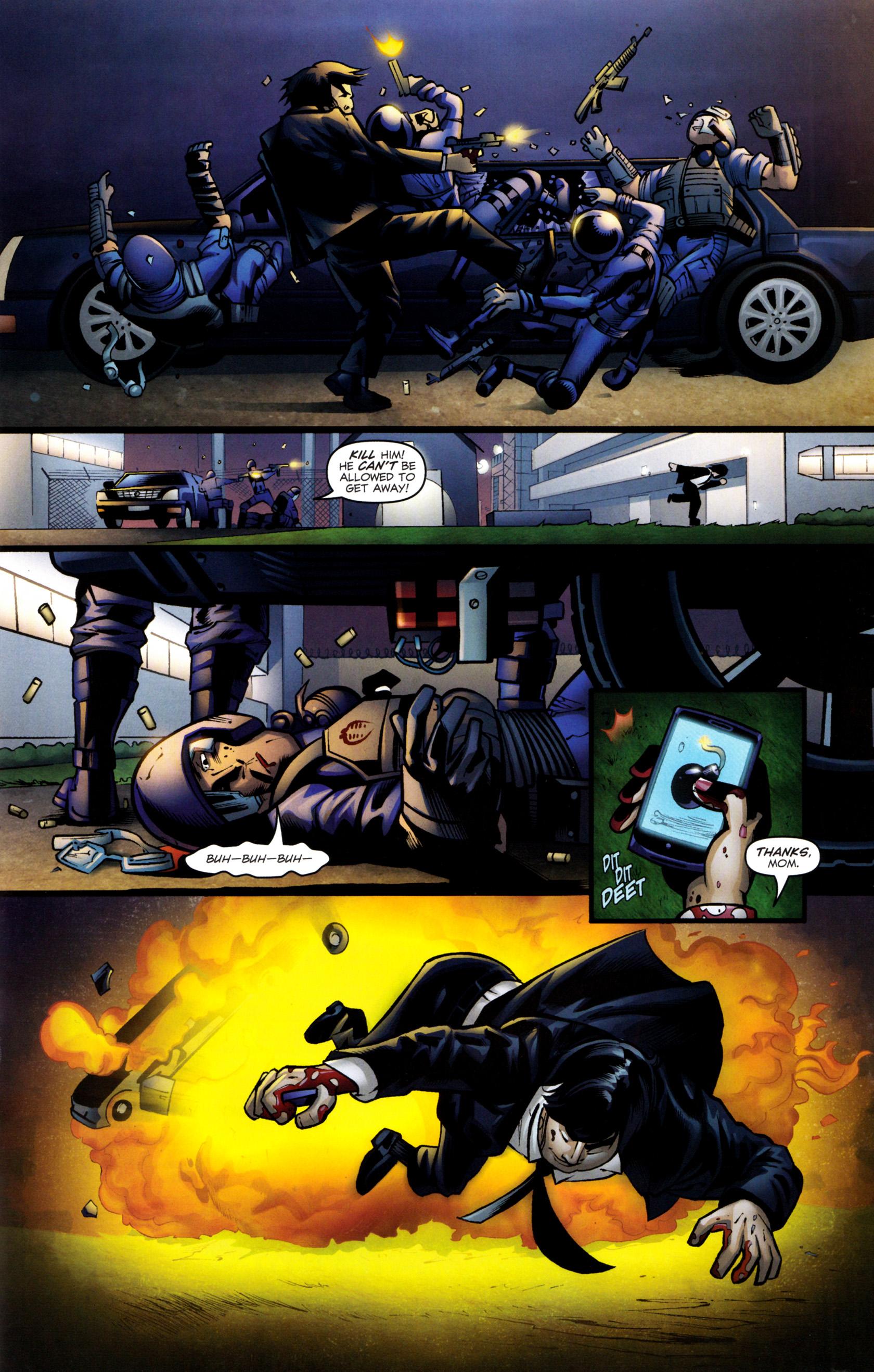Read online G.I. Joe: Snake Eyes comic -  Issue #8 - 6
