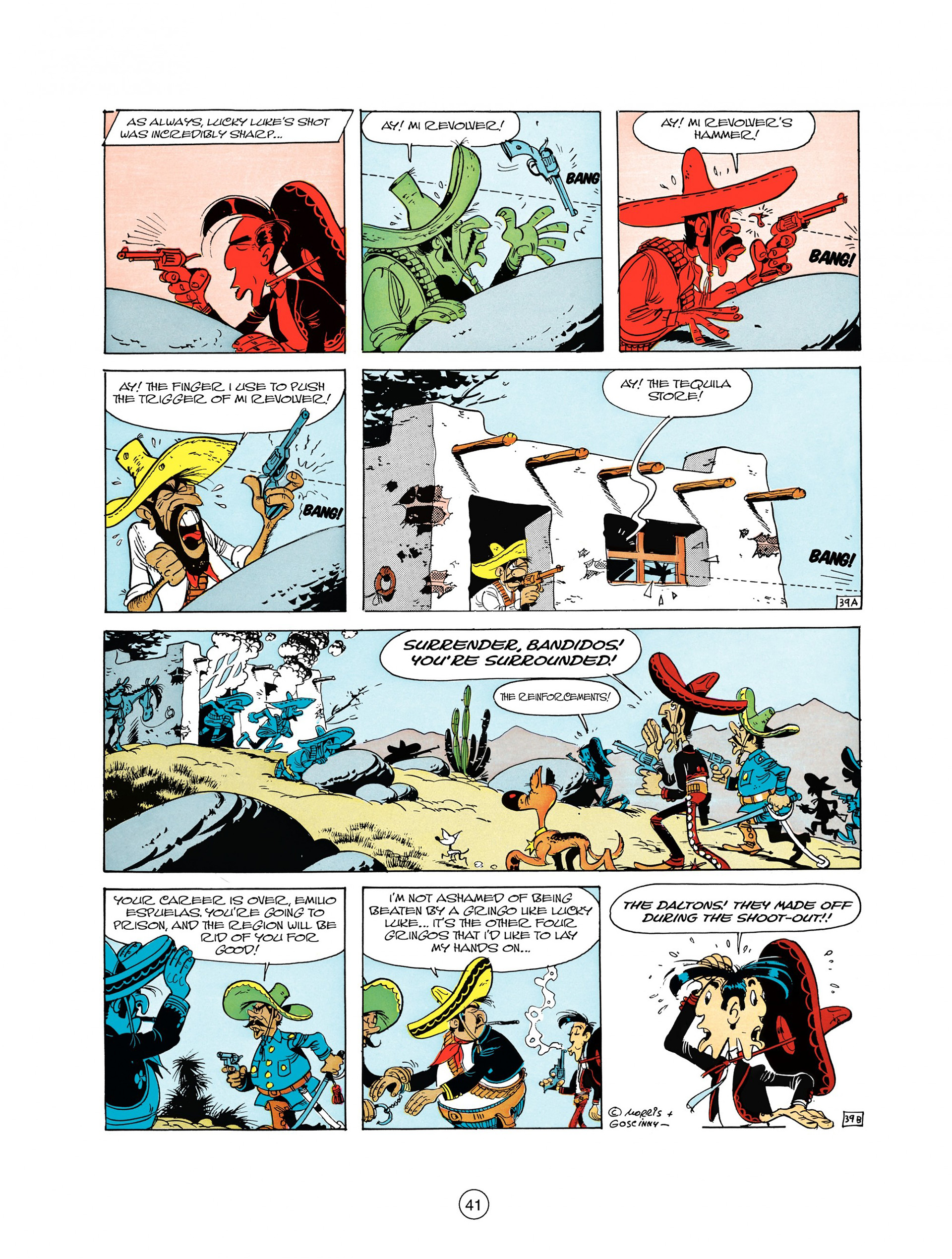 Read online A Lucky Luke Adventure comic -  Issue #10 - 41