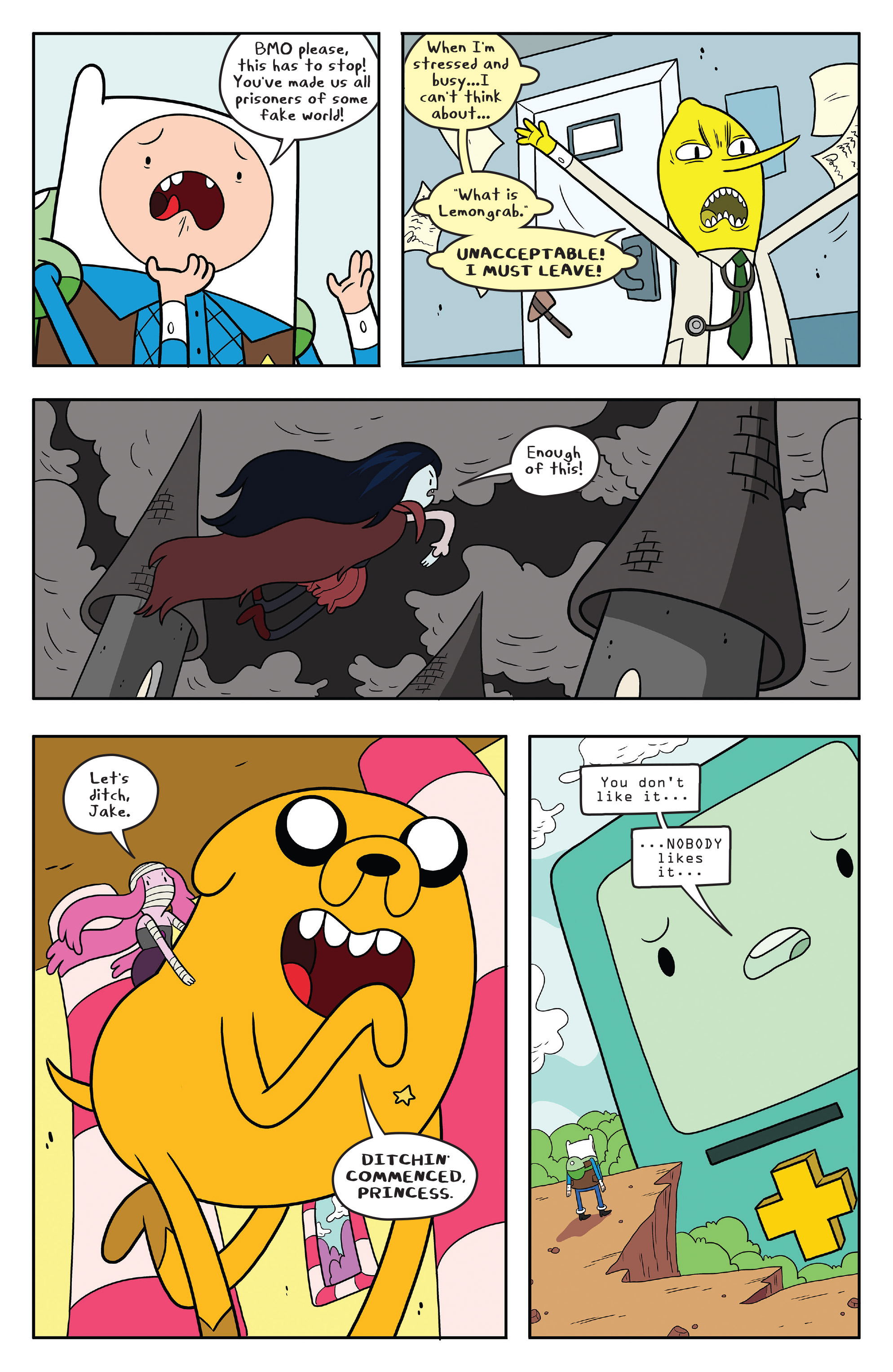 Read online Adventure Time comic -  Issue #55 - 23