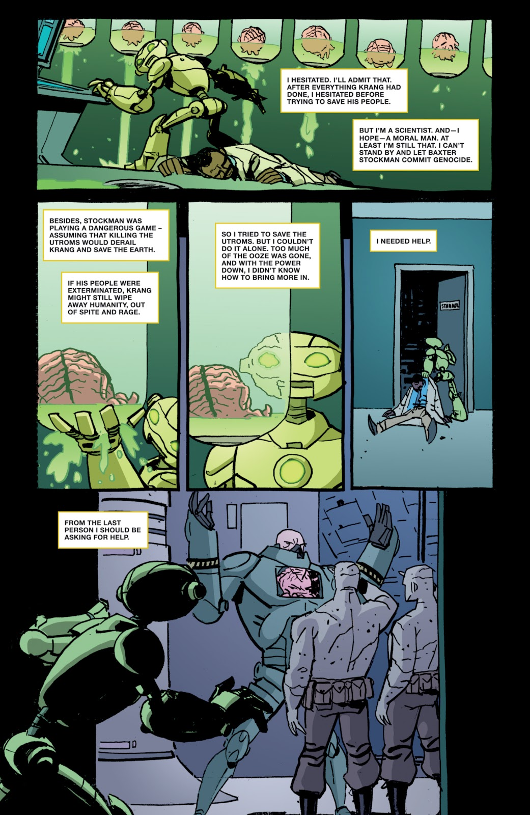 Read online Teenage Mutant Ninja Turtles: The IDW Collection comic -  Issue # TPB 4 (Part 1) - 76