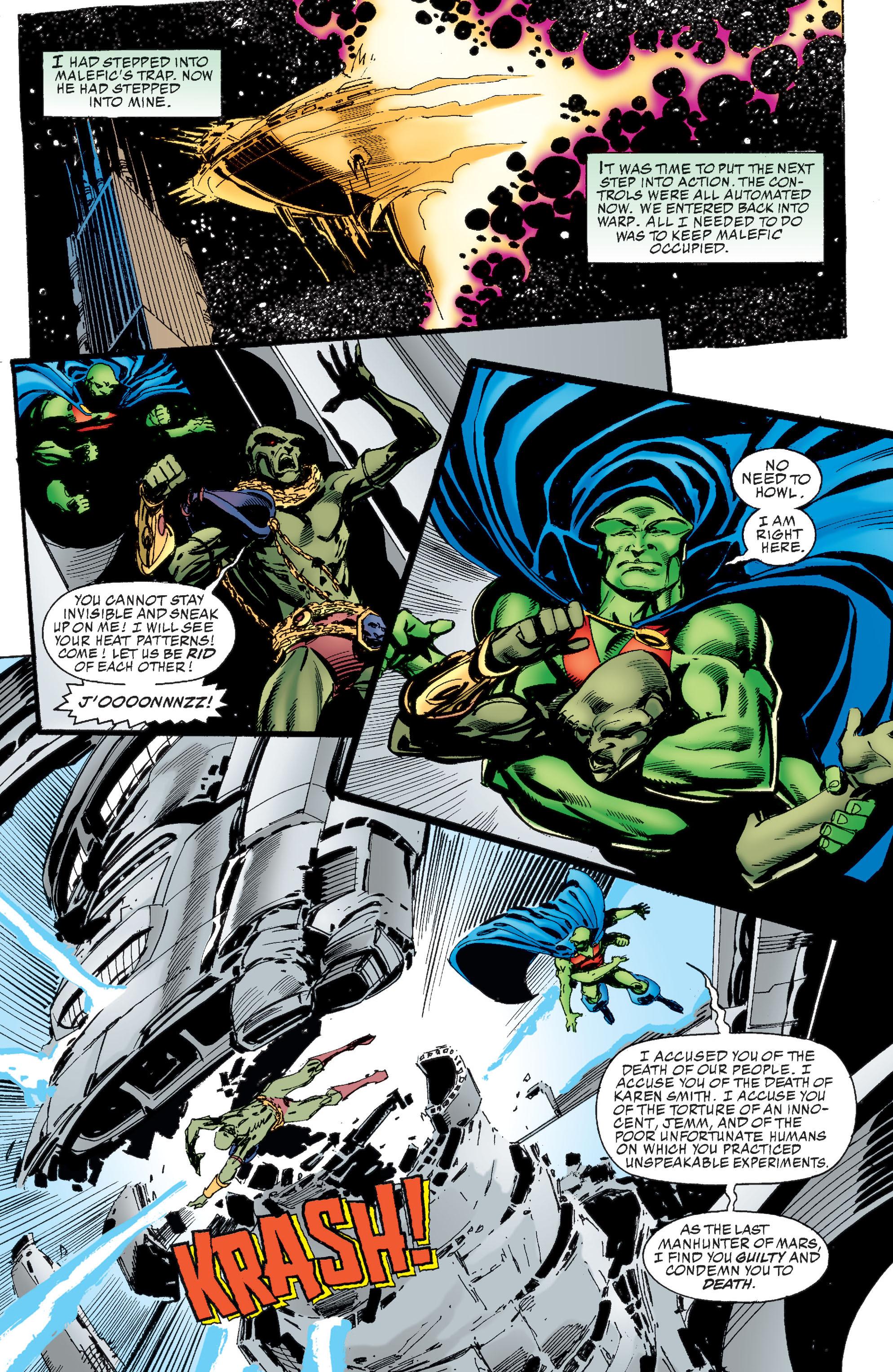 Read online Martian Manhunter: Son of Mars comic -  Issue # TPB - 224
