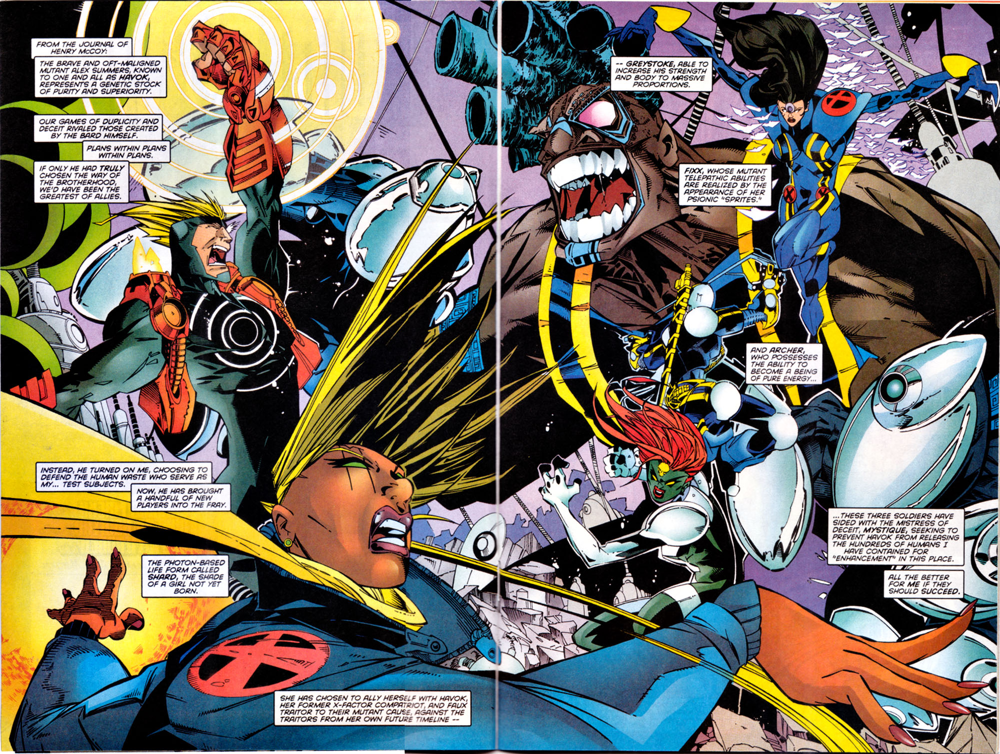 Read online X-Factor (1986) comic -  Issue #144 - 3