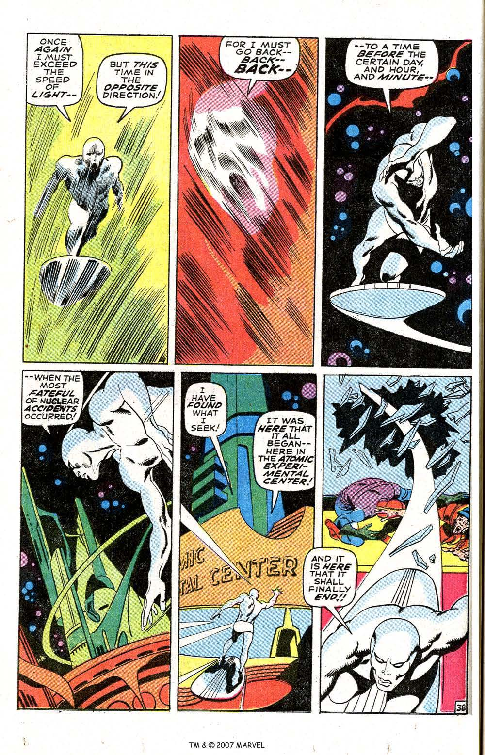 Read online Silver Surfer (1968) comic -  Issue #6 - 46