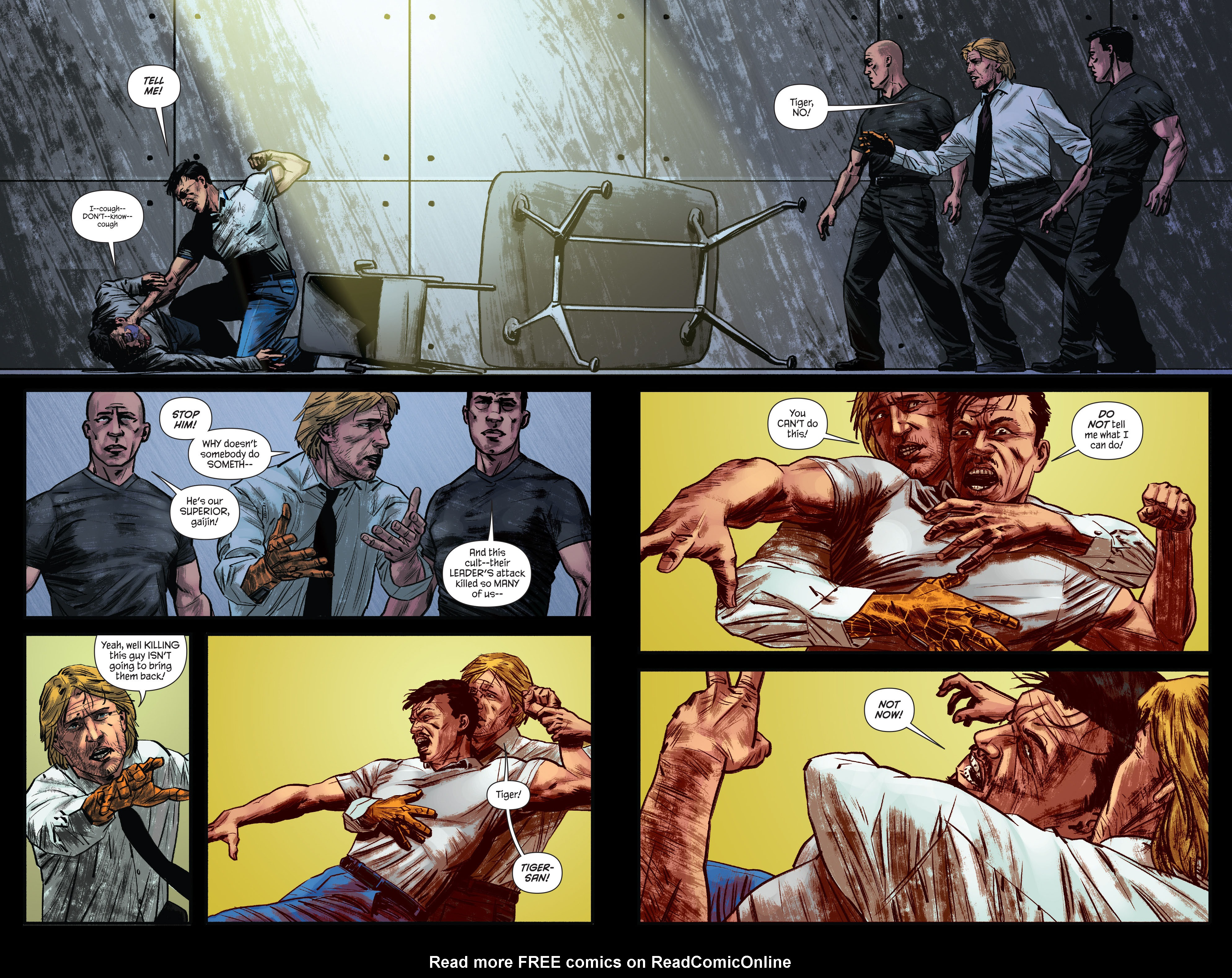 Read online James Bond: Felix Leiter comic -  Issue #4 - 4
