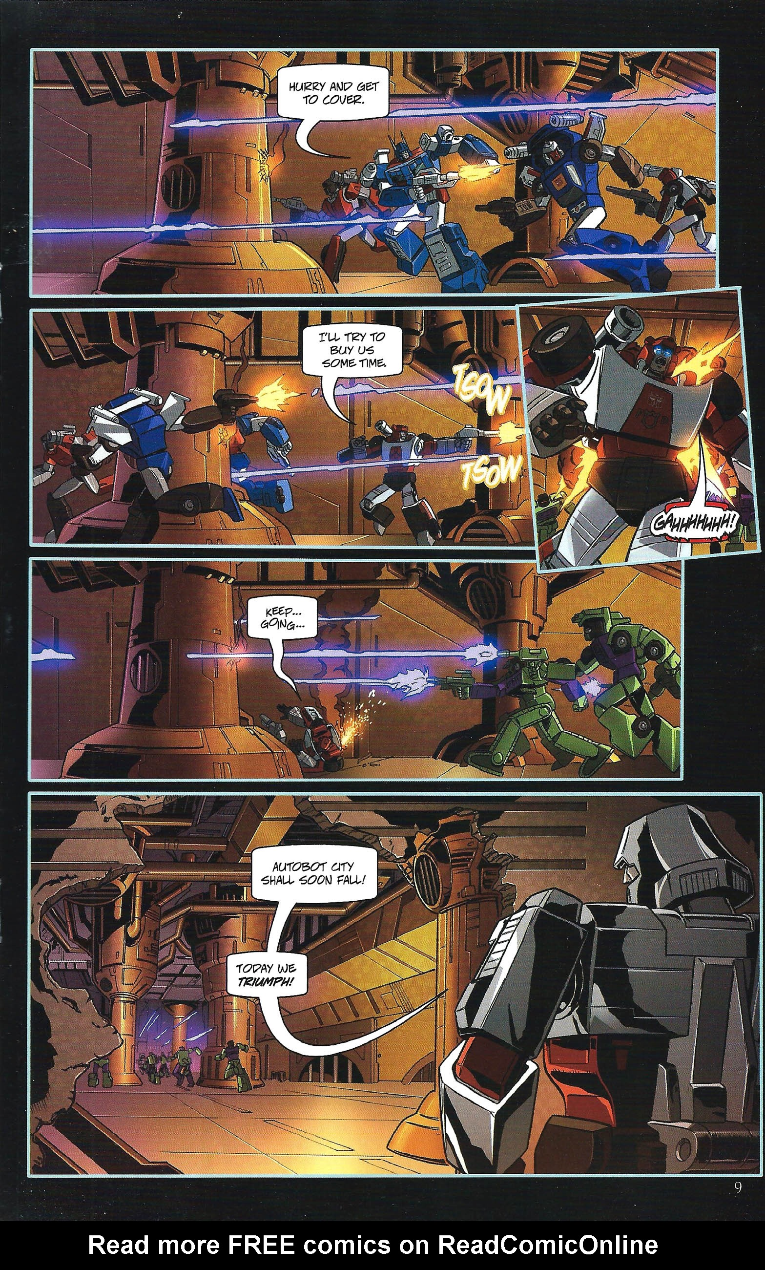 Read online Transformers: Collectors' Club comic -  Issue #43 - 9