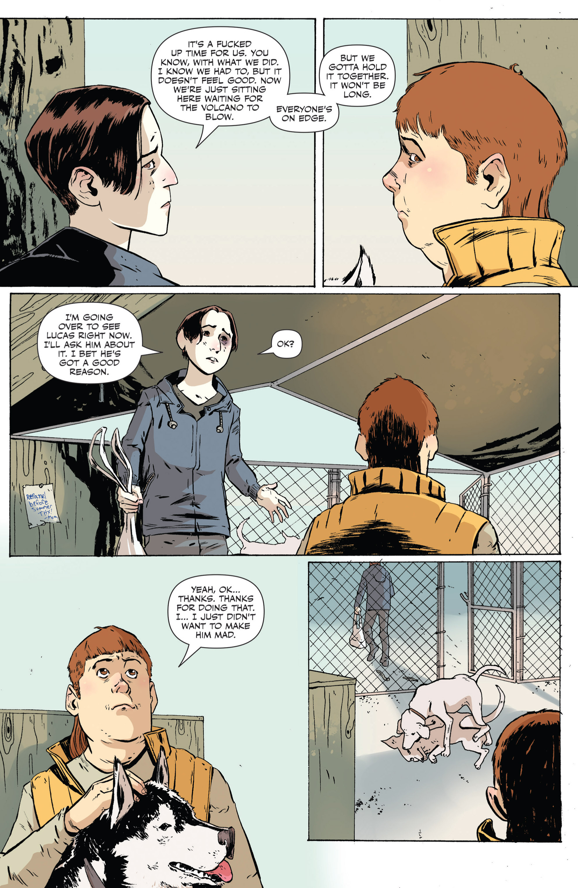 Read online Sheltered comic -  Issue #4 - 5