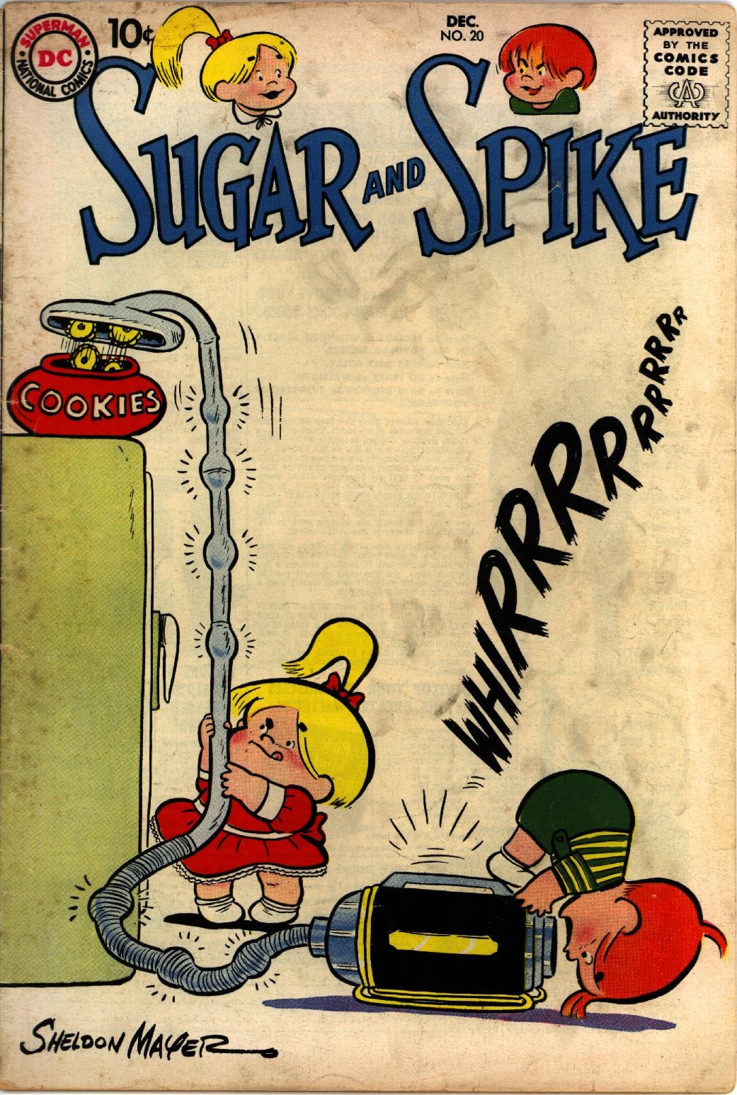 Sugar and Spike 20 Page 1