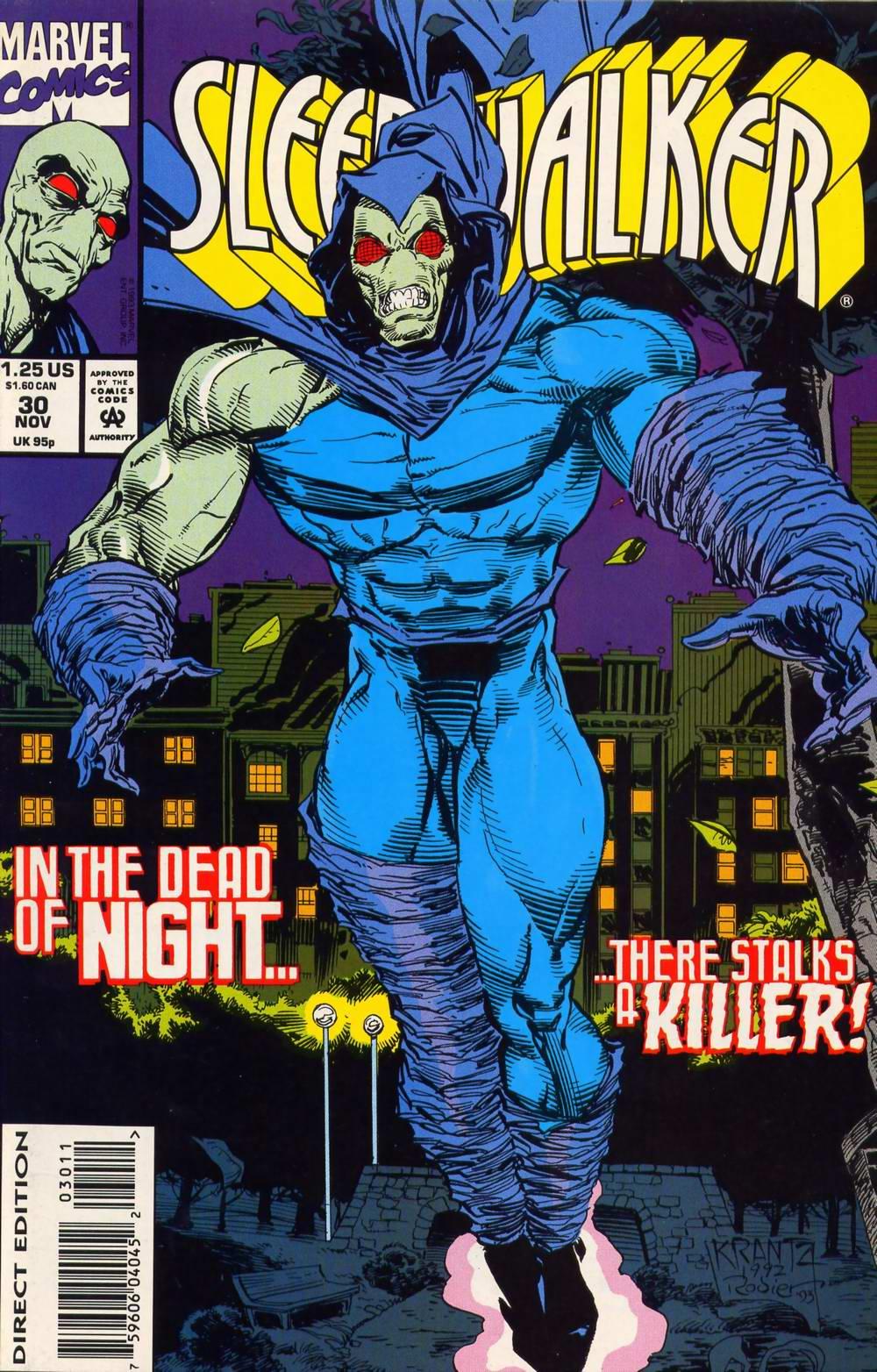 Read online Sleepwalker comic -  Issue #30 - 1