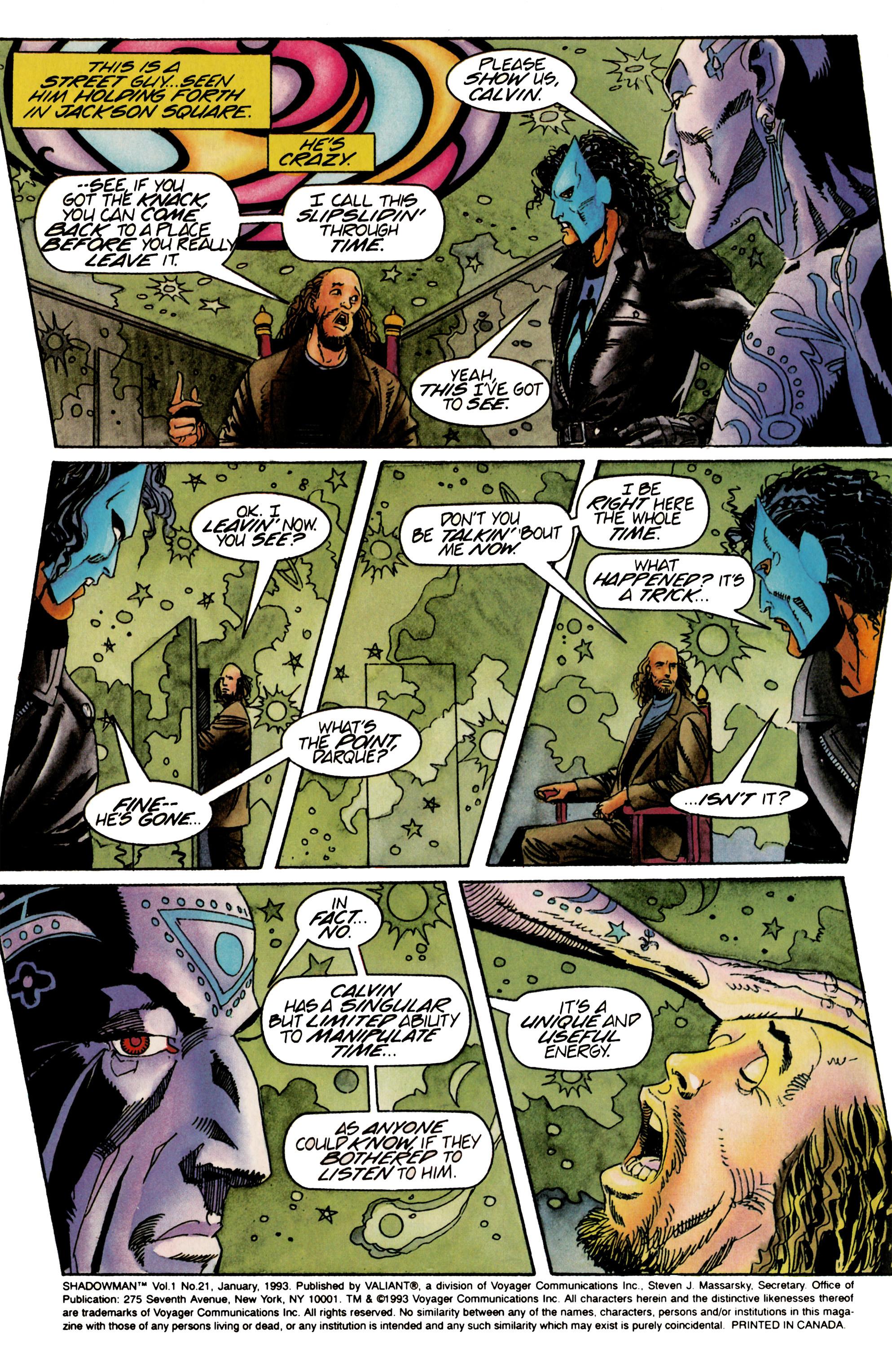 Read online Shadowman (1992) comic -  Issue #21 - 3