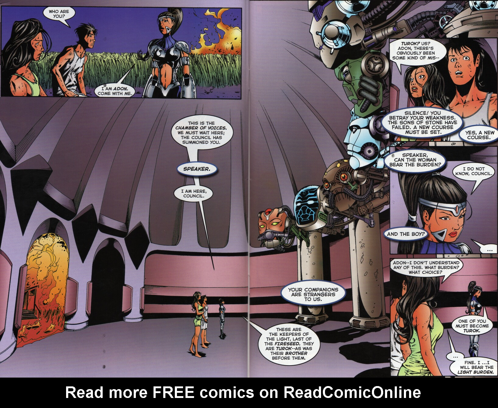 Read online Turok 3: Shadow of Oblivion comic -  Issue # Full - 15