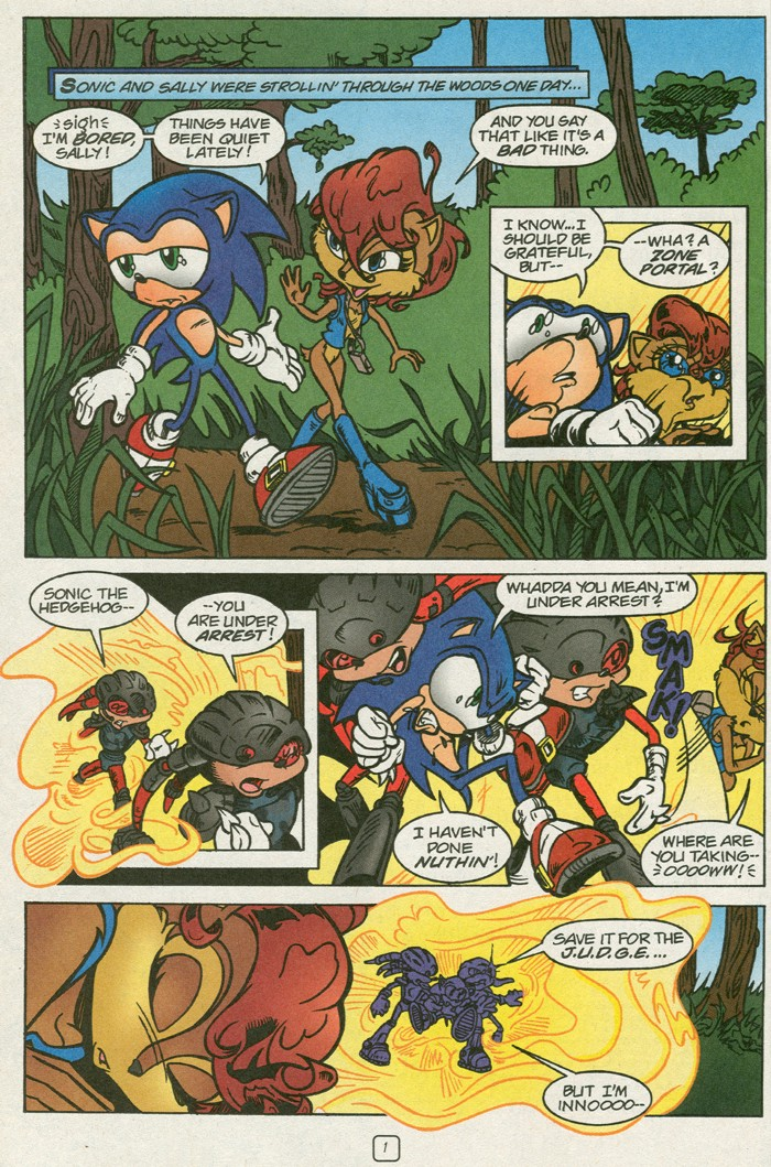 Read online Sonic Super Special comic -  Issue #14 - best of times - 3