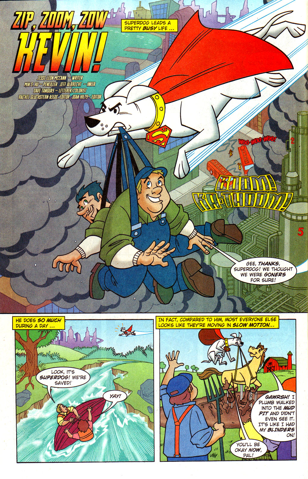 Read online Krypto the Superdog comic -  Issue #4 - 12