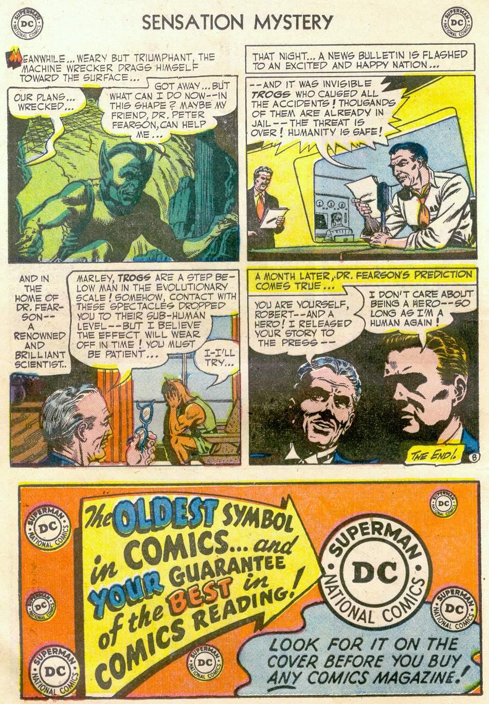 Read online Sensation (Mystery) Comics comic -  Issue #110 - 20