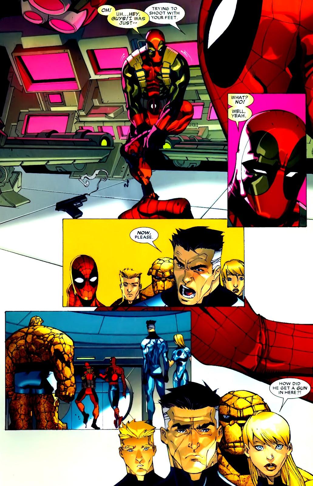 Read online Deadpool (2008) comic -  Issue #21 - 4