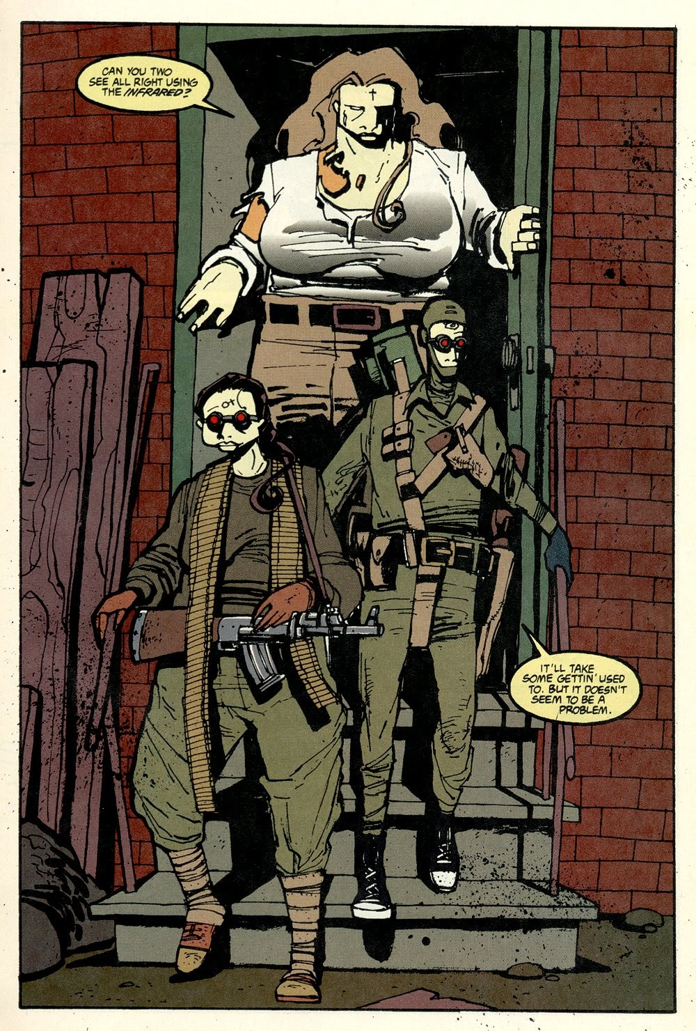 Read online Ted McKeever's Metropol comic -  Issue #11 - 13