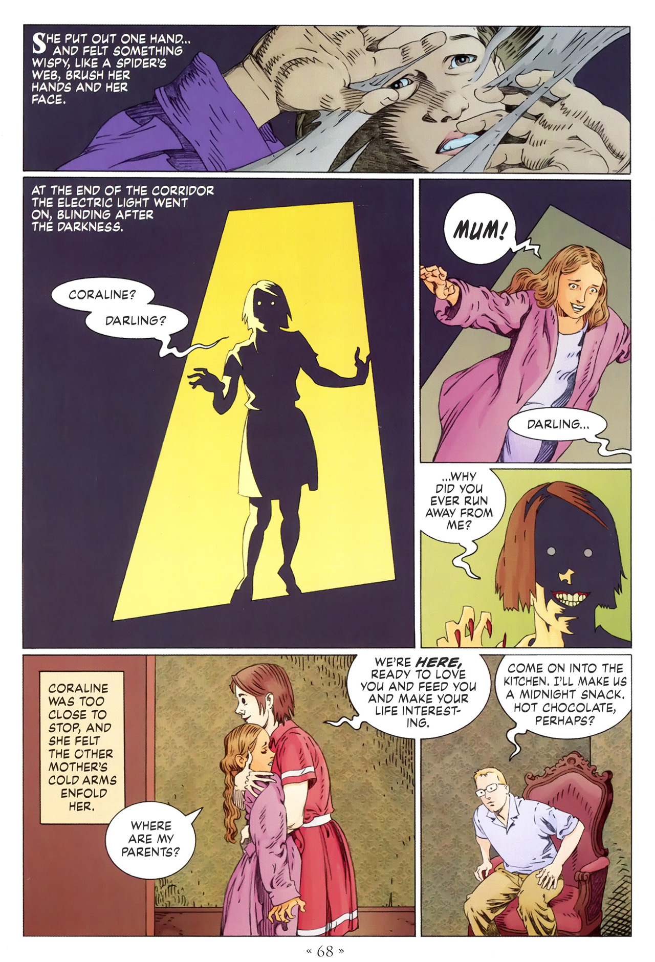 Read online Coraline comic -  Issue #1 - 74