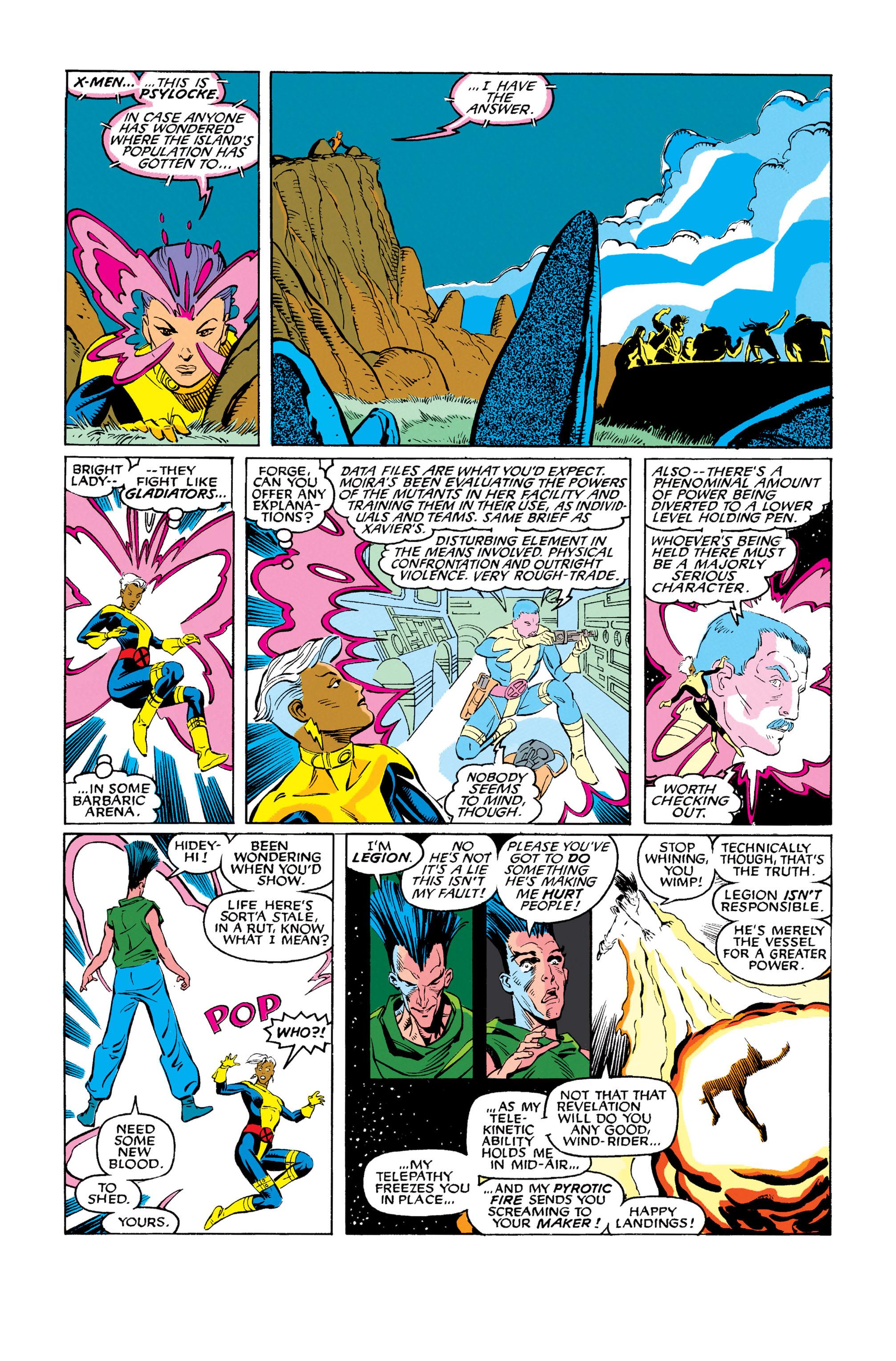Read online Uncanny X-Men (1963) comic -  Issue #278 - 17