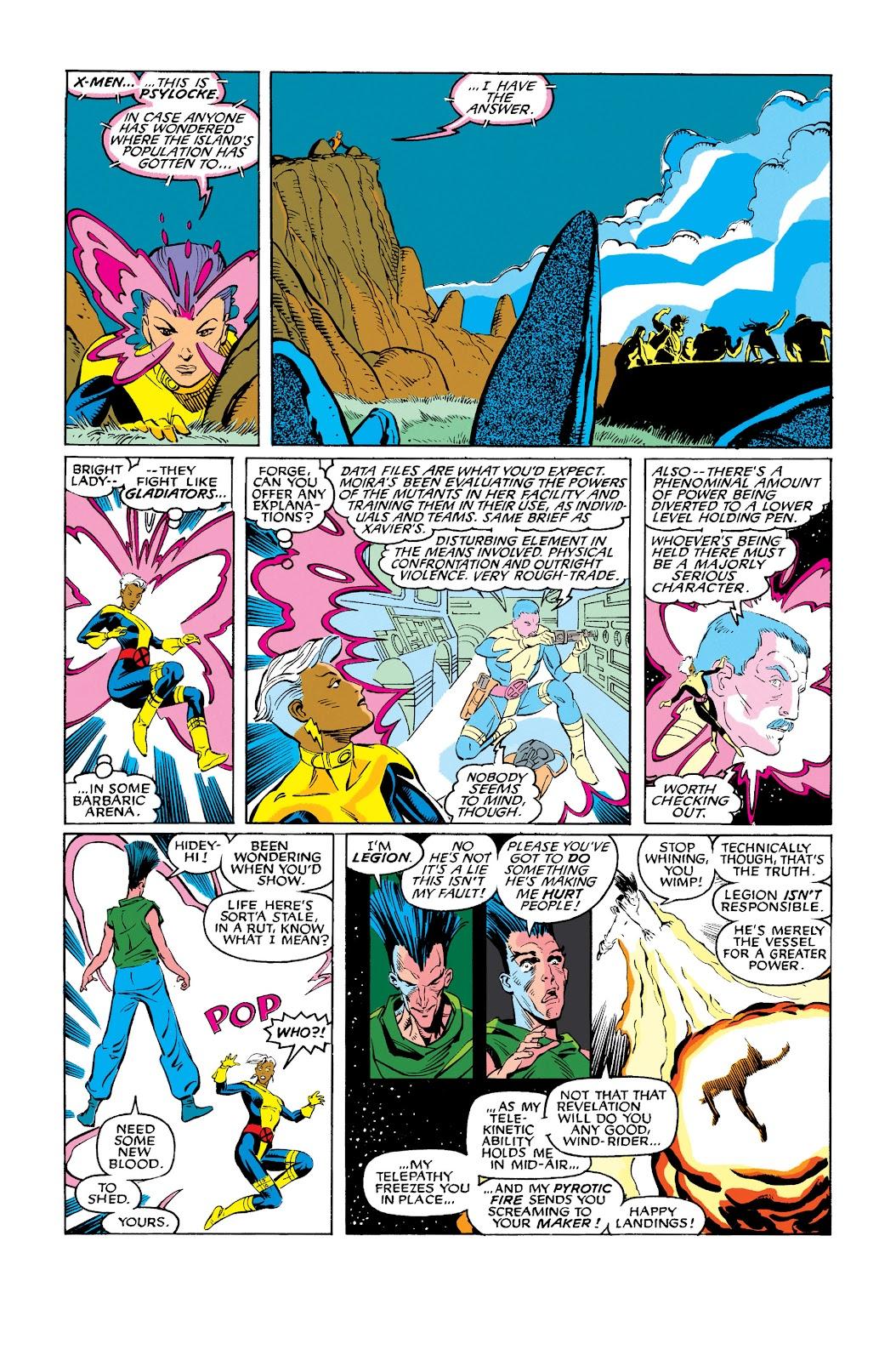 Uncanny X-Men (1963) issue 278 - Page 17