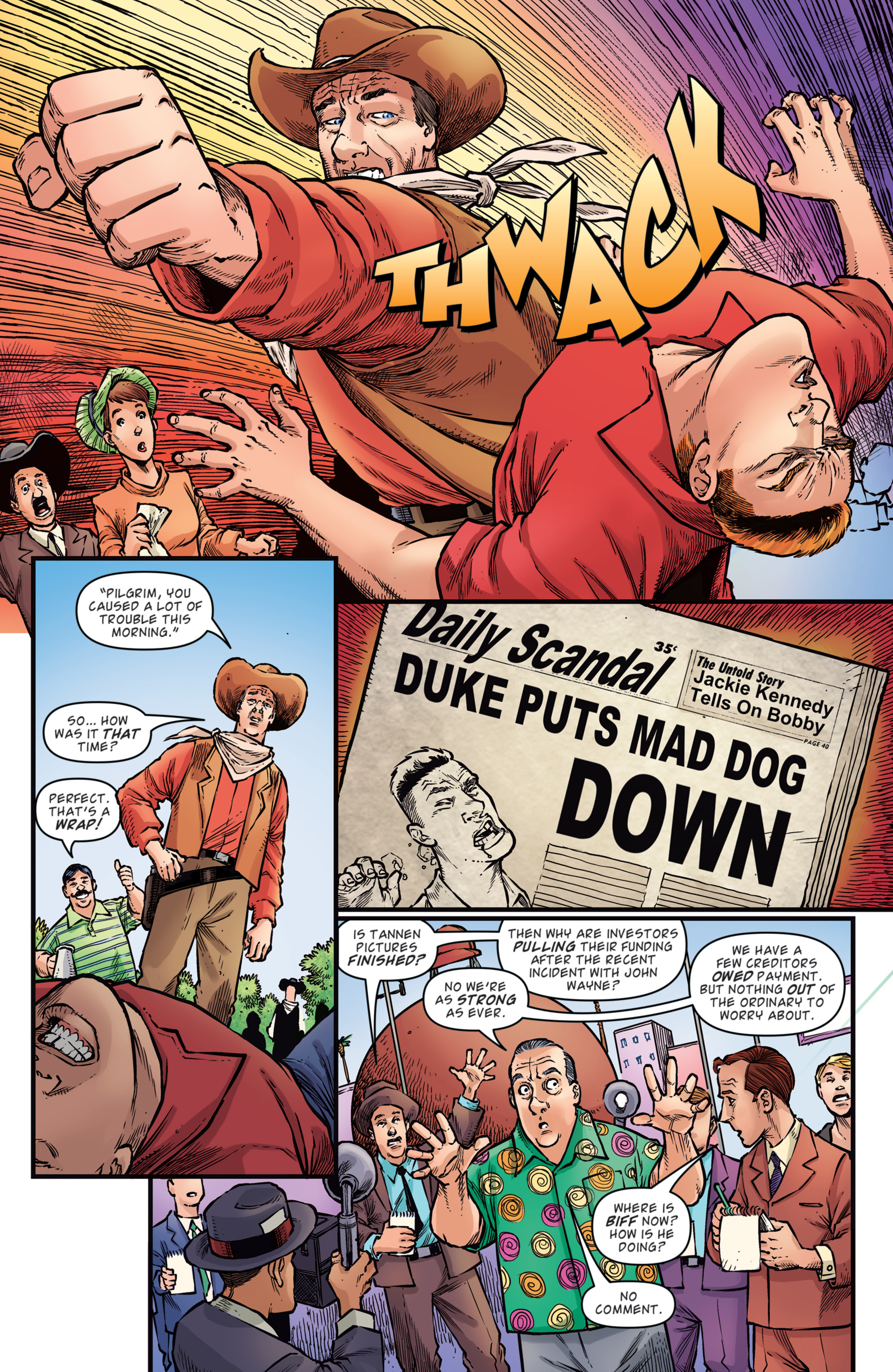 Read online Back to the Future: Biff to the Future comic -  Issue #2 - 17