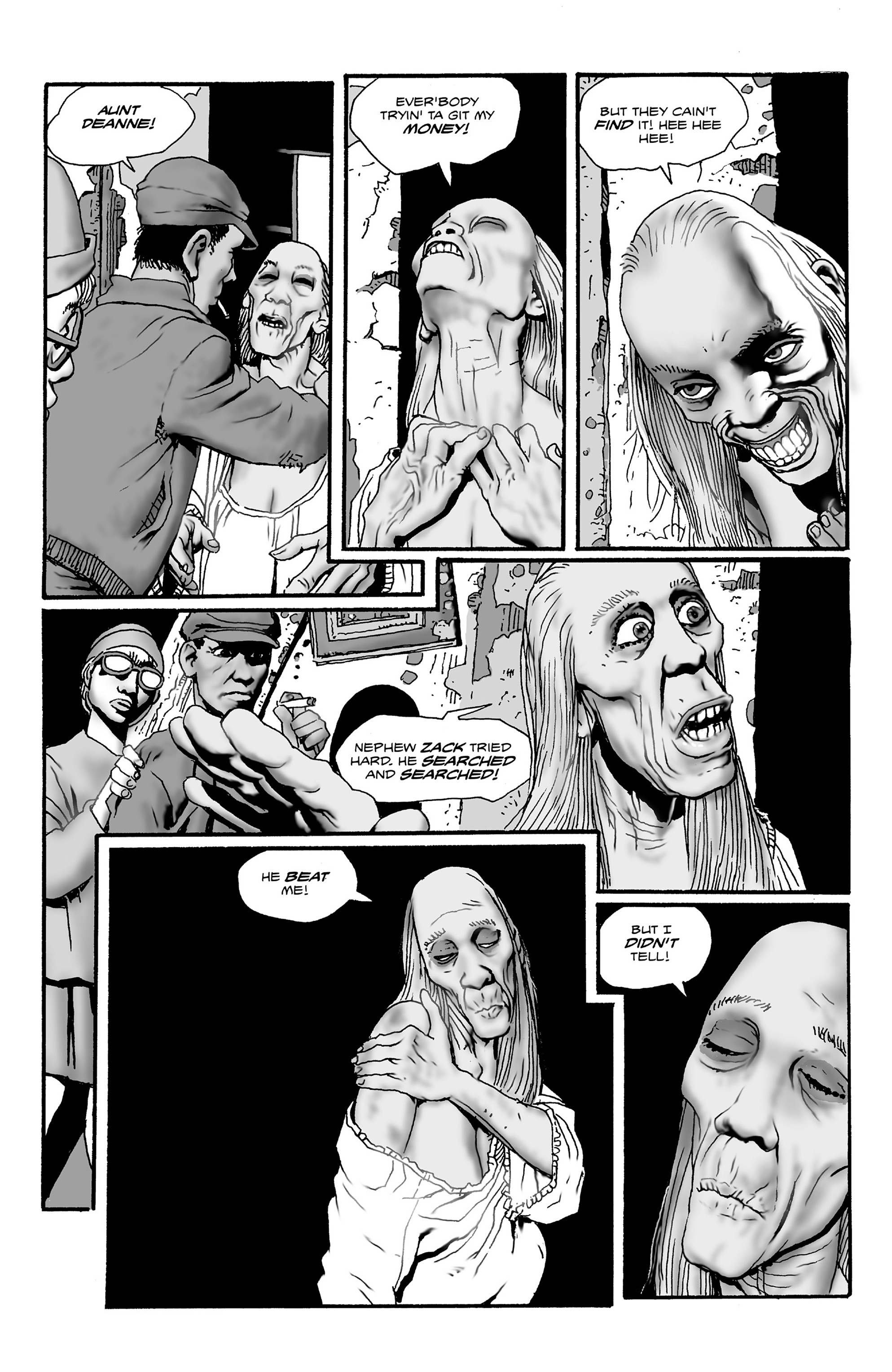 Read online Shadows on the Grave comic -  Issue #2 - 5