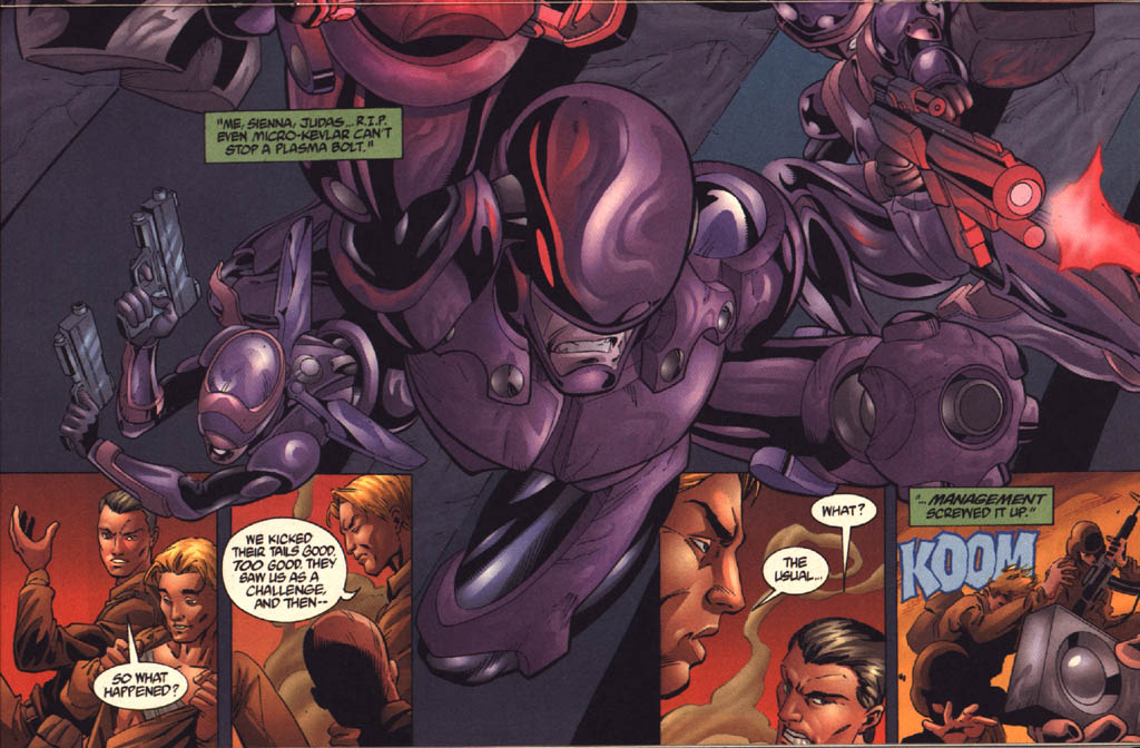 Read online Aliens vs. Predator: Xenogenesis comic -  Issue #3 - 20