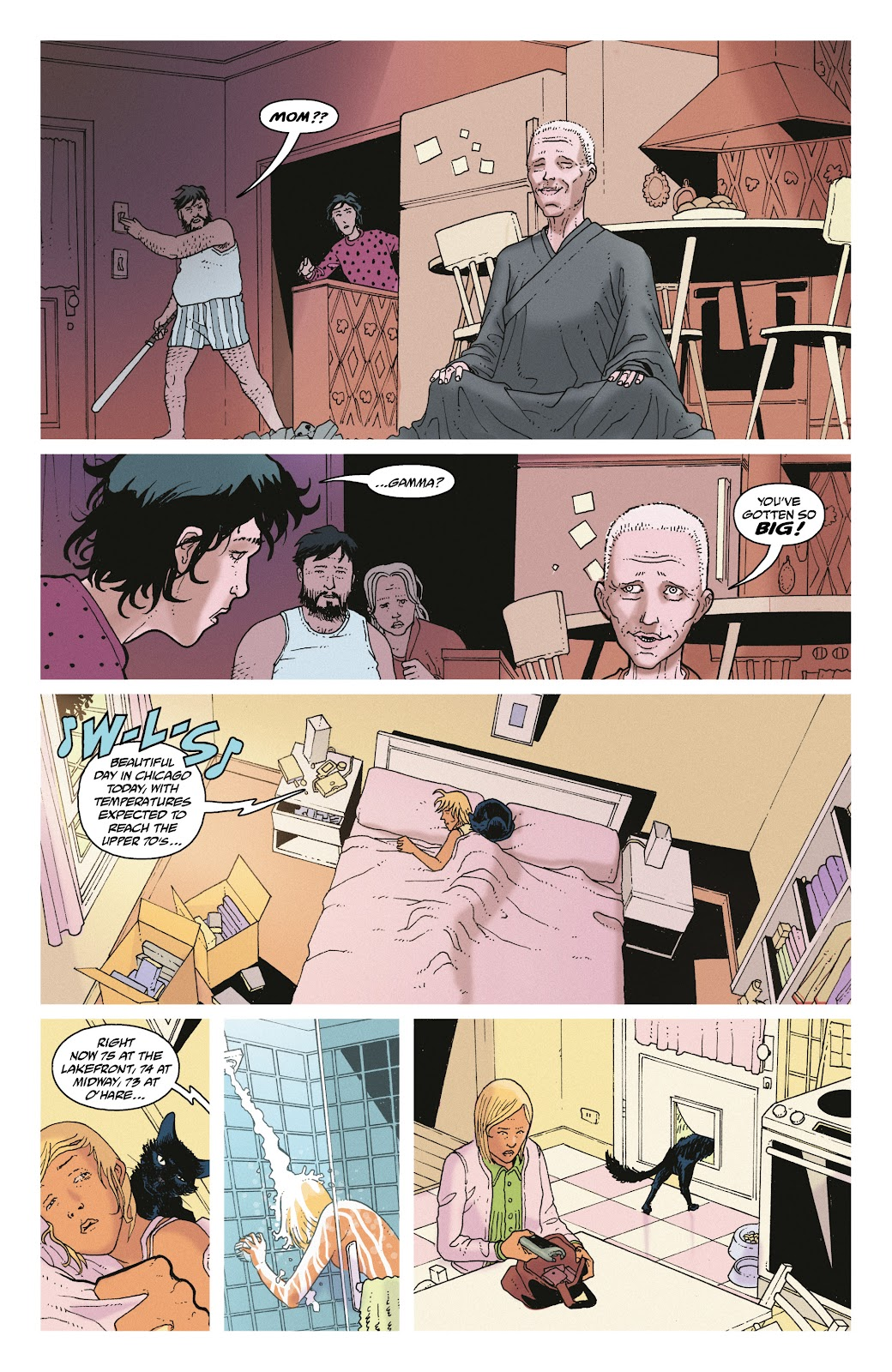 Read online She Could Fly comic -  Issue # _TPB - 25