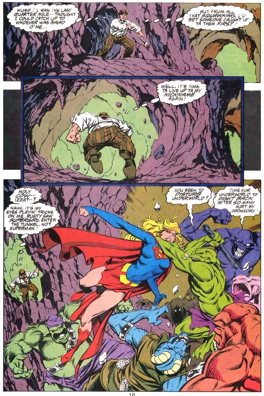 Read online Adventures of Superman (1987) comic -  Issue #499 - 17