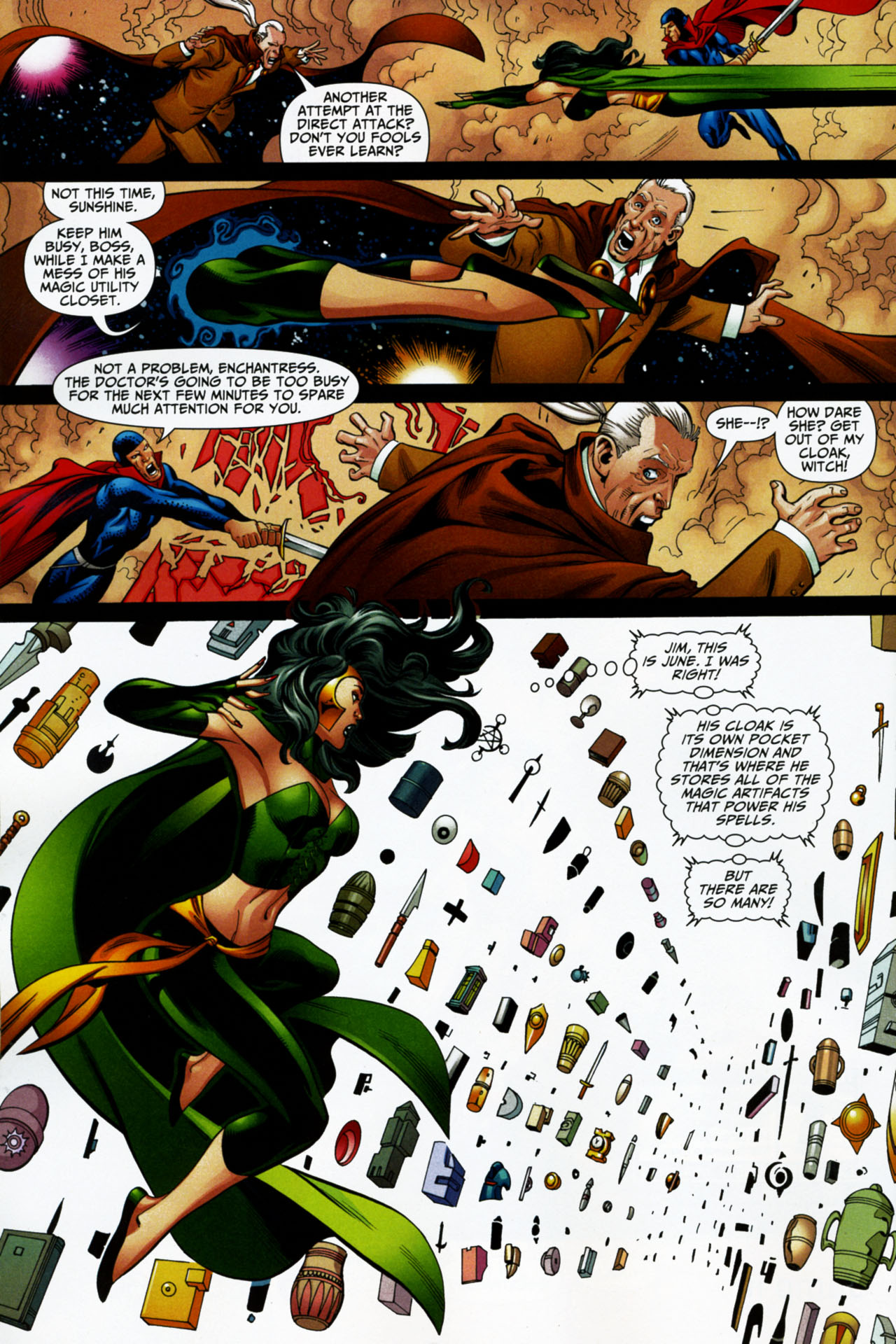 Read online Shadowpact comic -  Issue #16 - 15