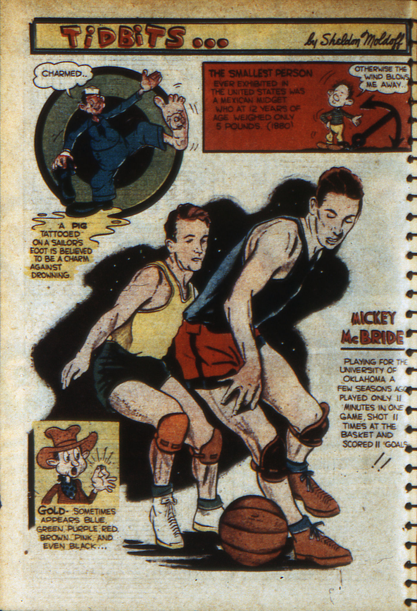 Read online Adventure Comics (1938) comic -  Issue #46 - 67
