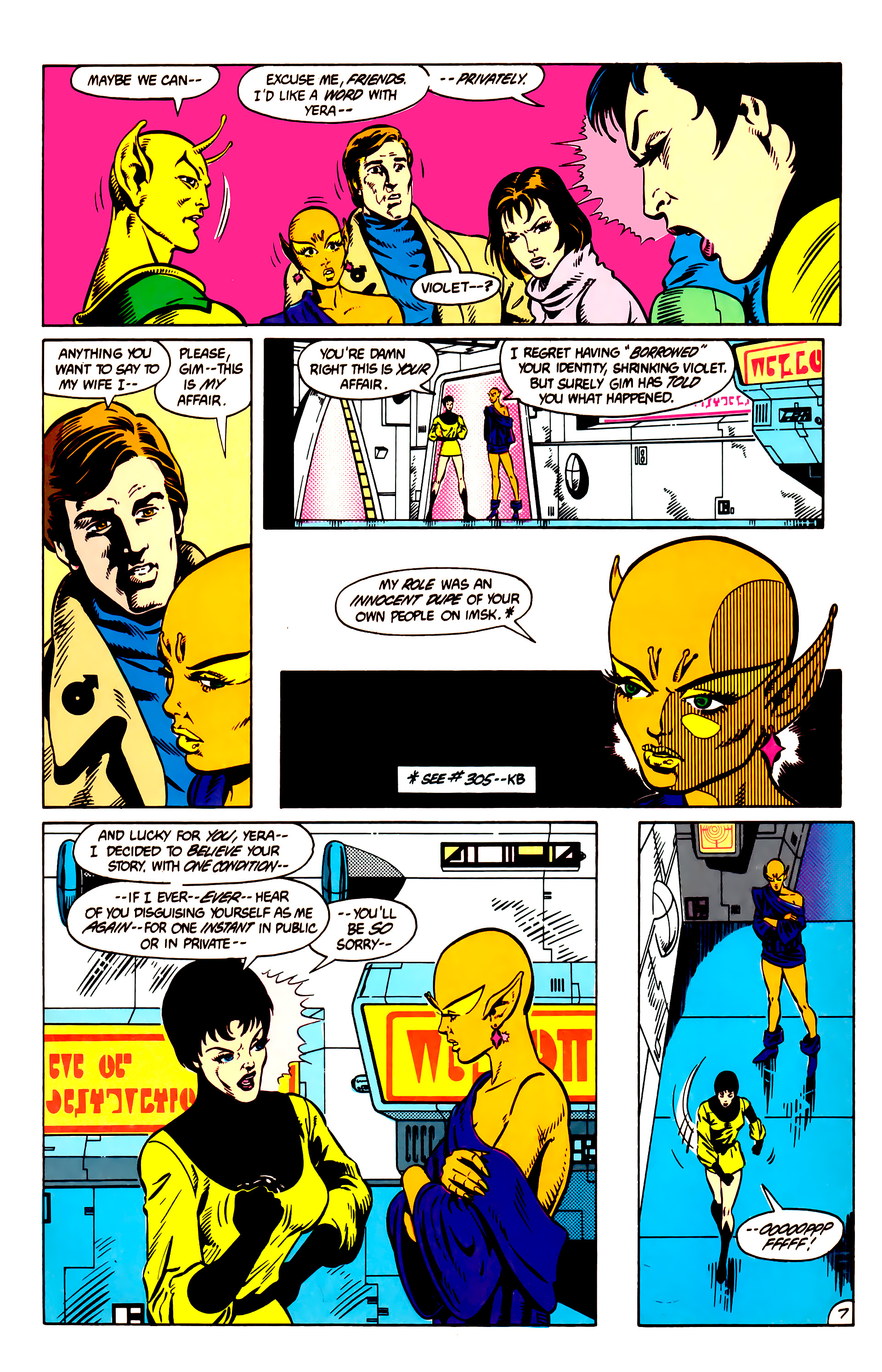 Legion of Super-Heroes (1984) 9 Page 8