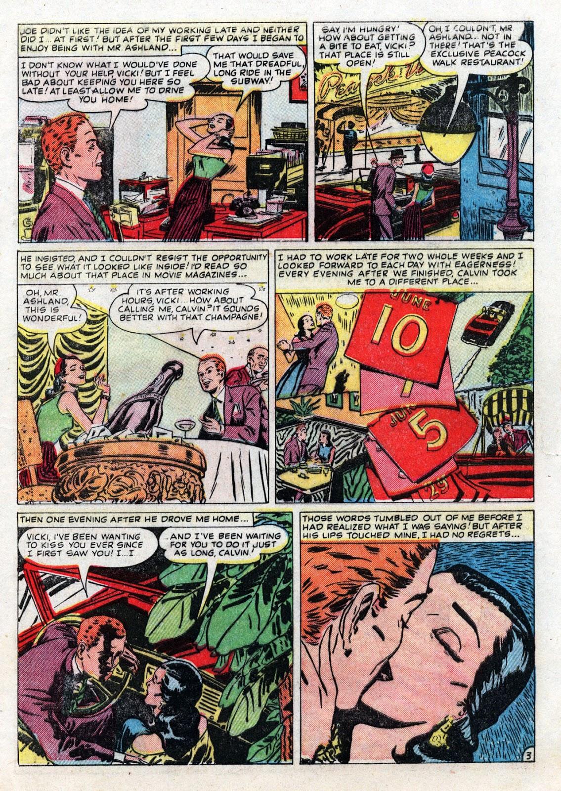 Love Romances (1949) issue 19 - Page 5