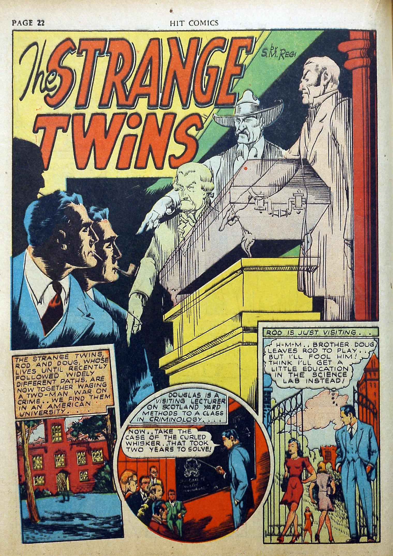 Read online Hit Comics comic -  Issue #17 - 24