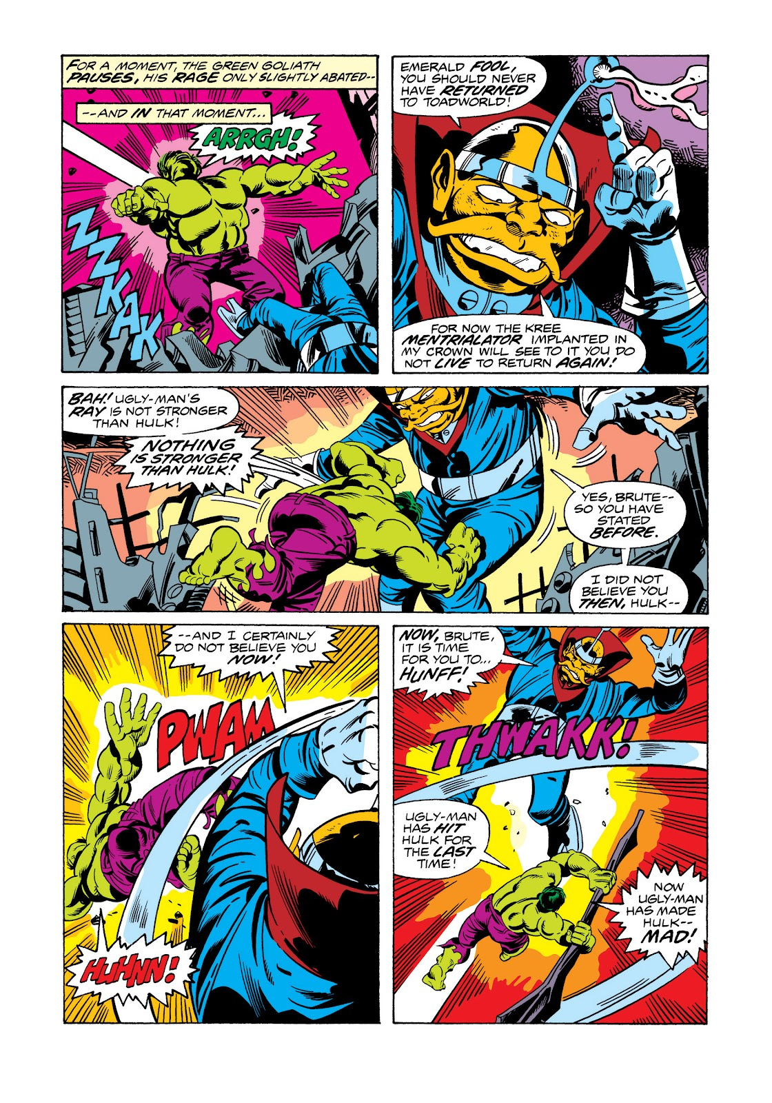 Read online Marvel Masterworks: The Incredible Hulk comic -  Issue # TPB 11 (Part 2) - 55
