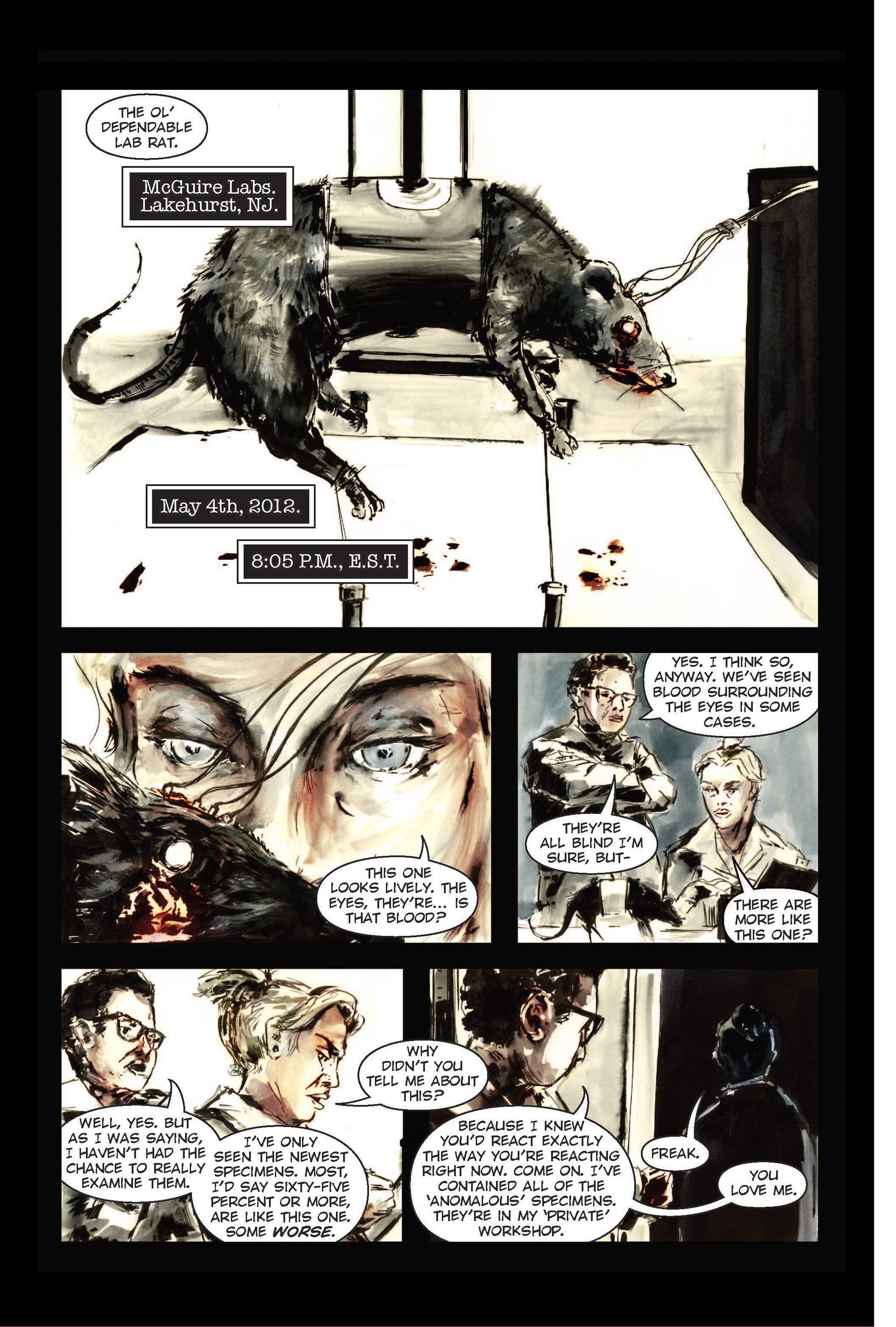 Read online The Final Plague comic -  Issue #1 - 12